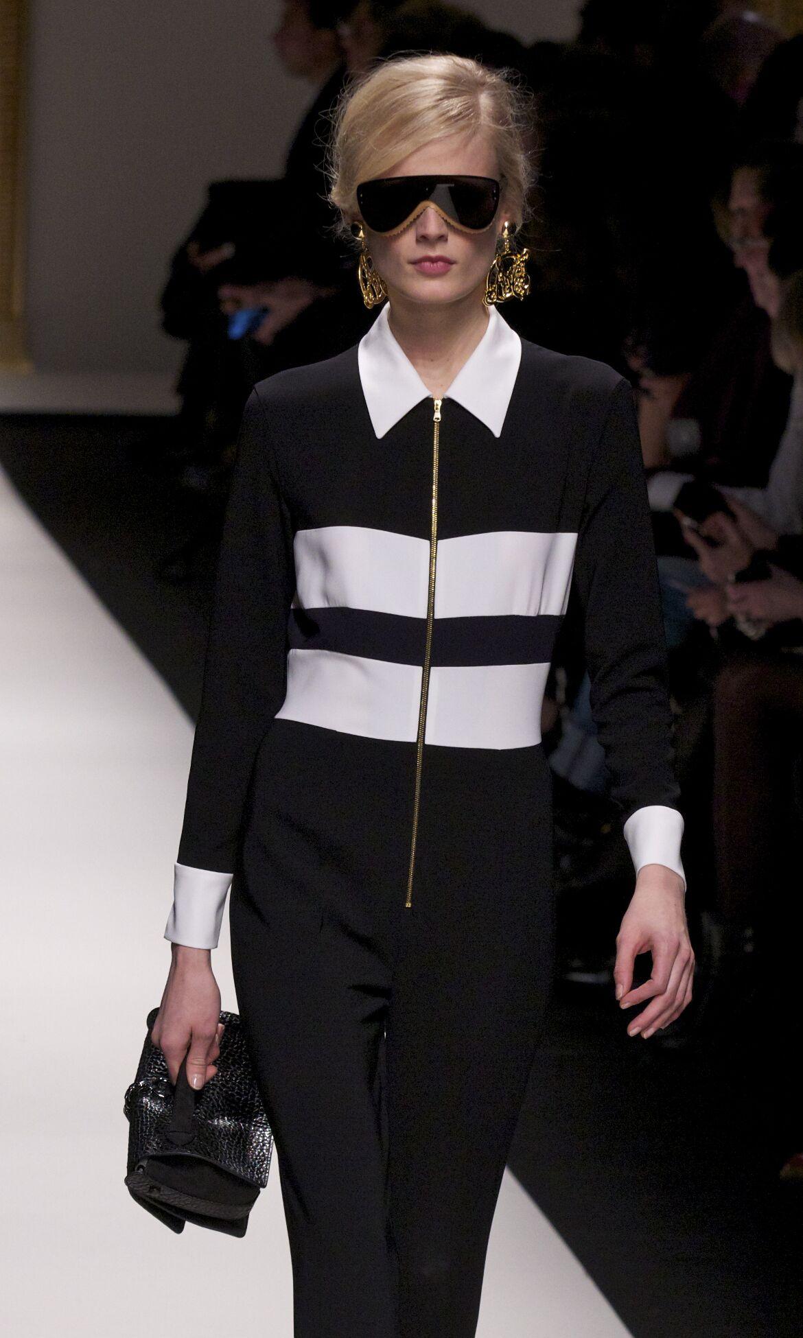 Catwalk Moschino Fashion Show Winter 2013