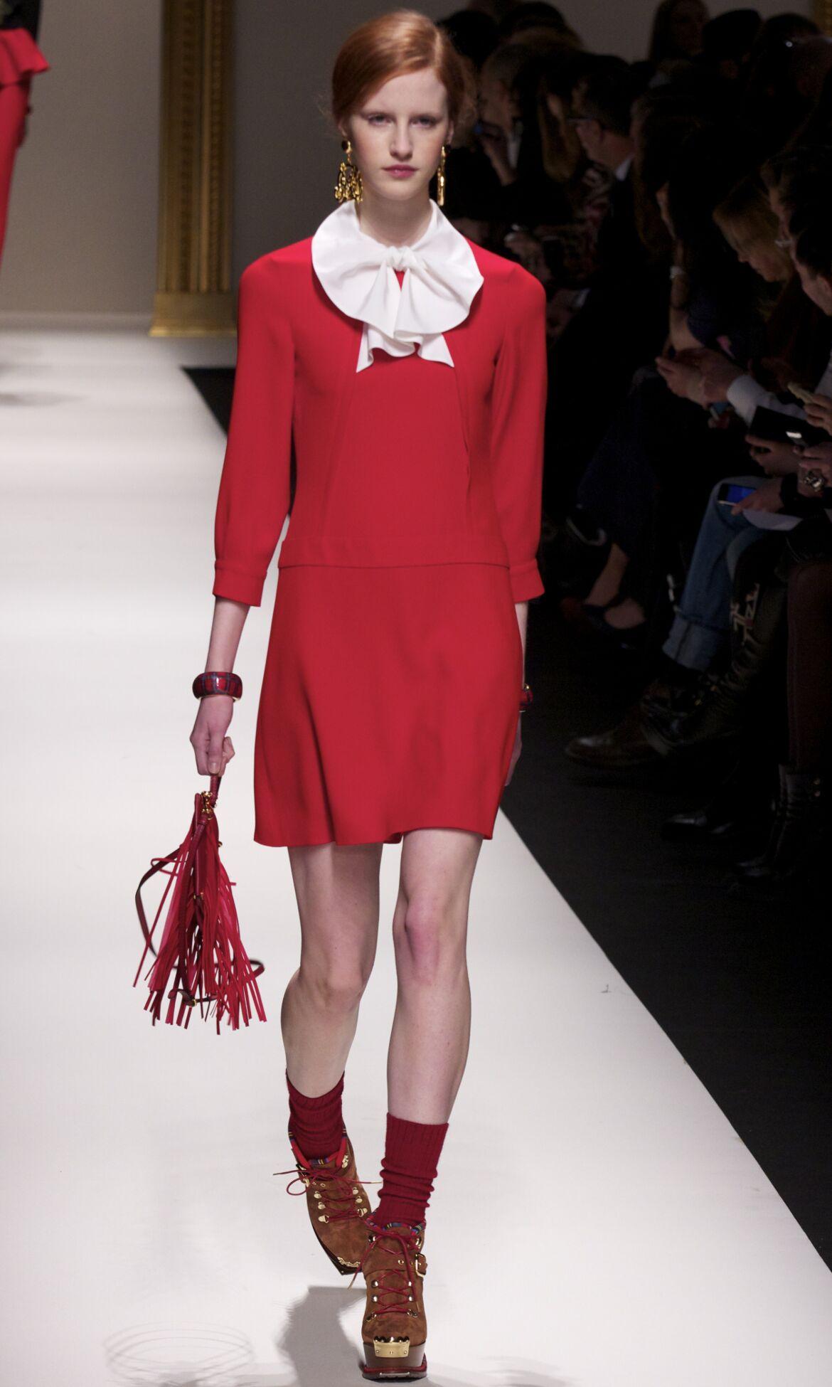 Fall 2014 Women Fashion Show Moschino