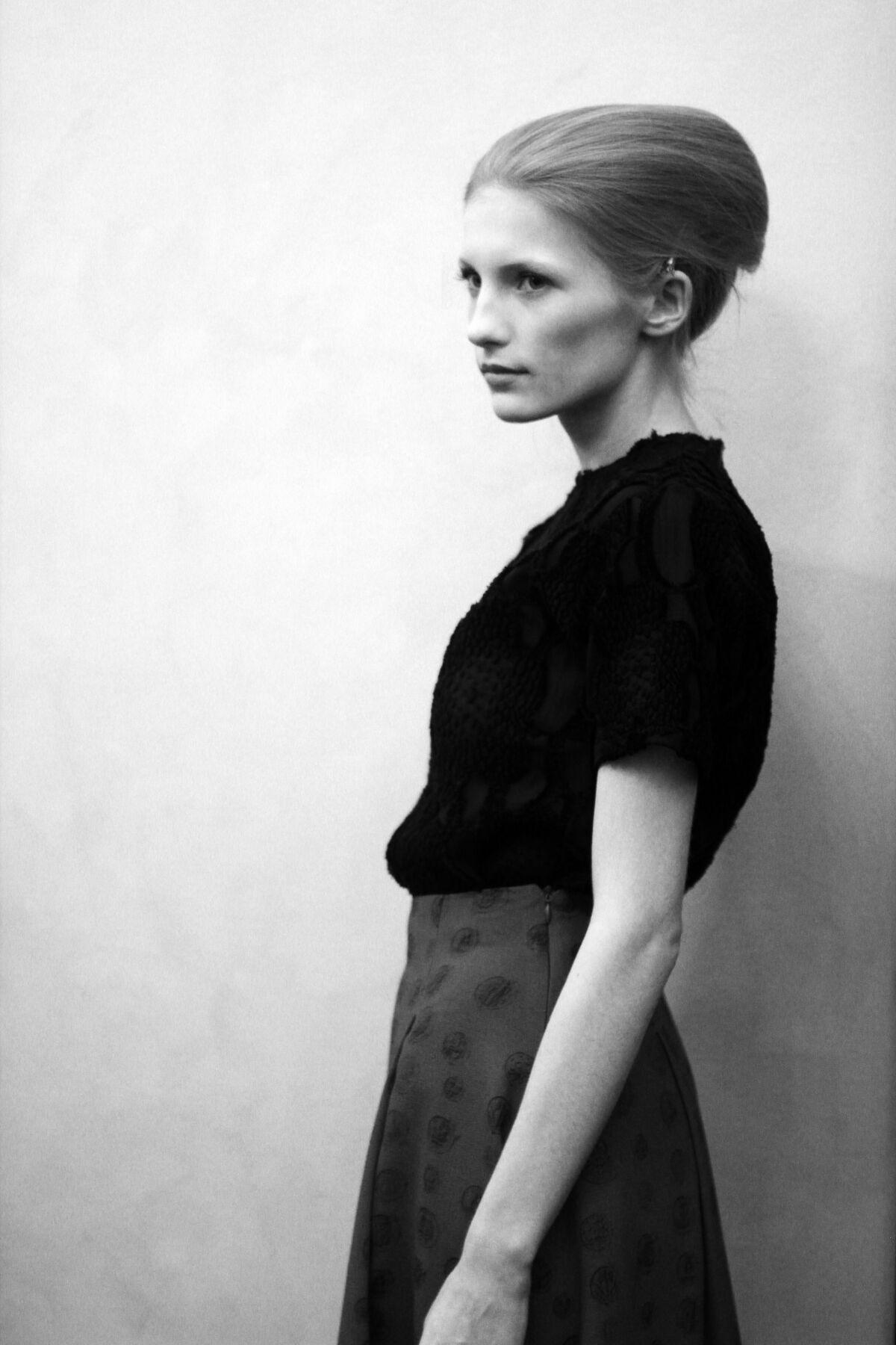 Fashion Model Backstage Andrea Incontri