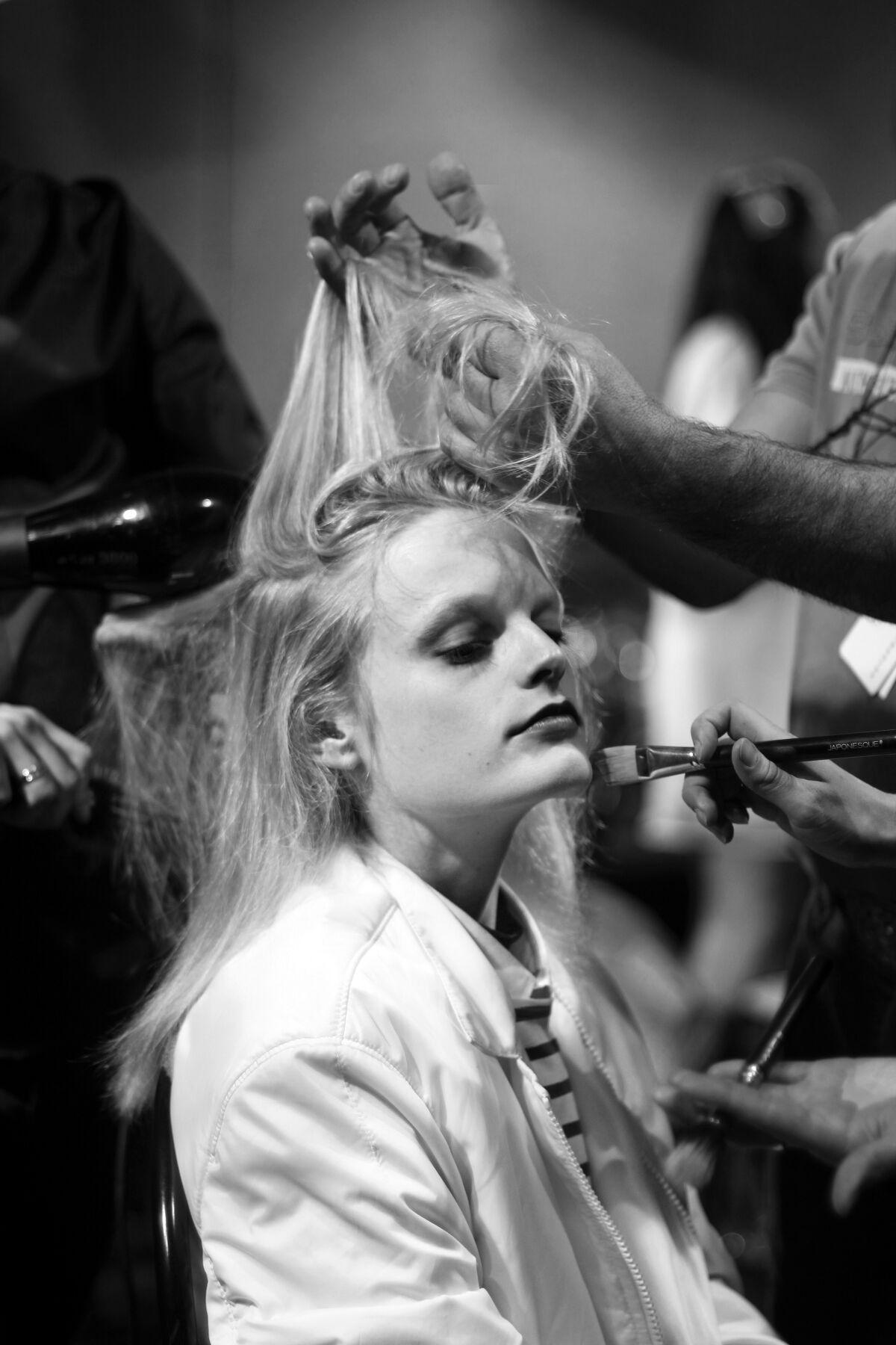 Hair Style Fashion Backstage
