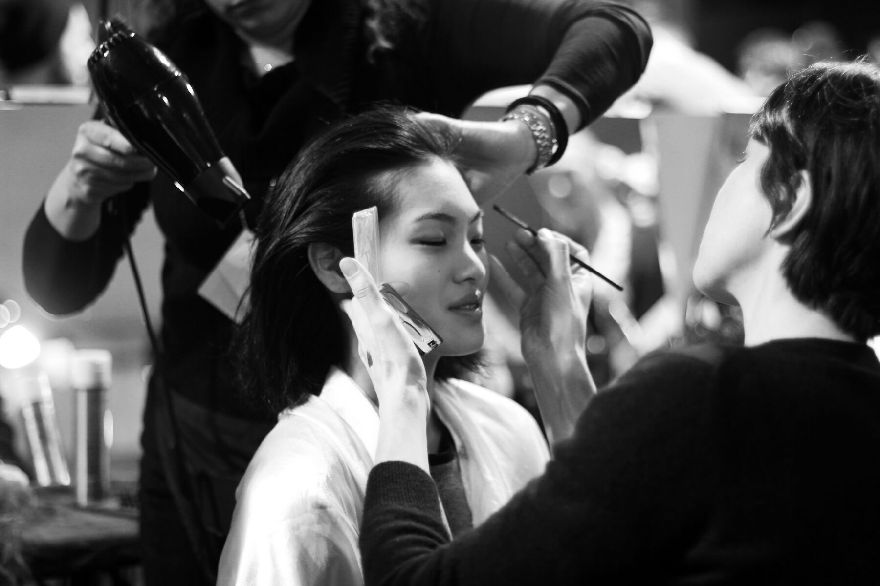 Makeup Fashion Backstage