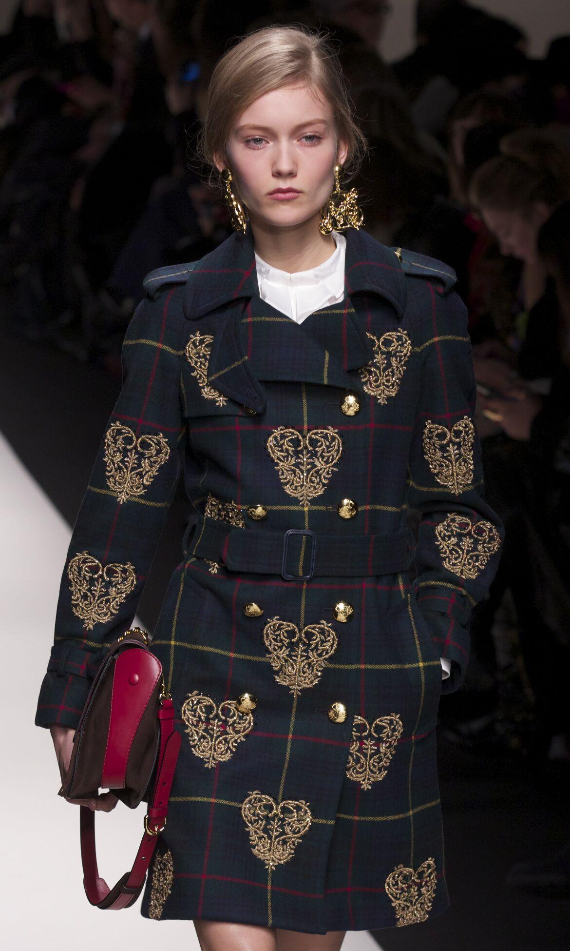 Moschino Fashion Model