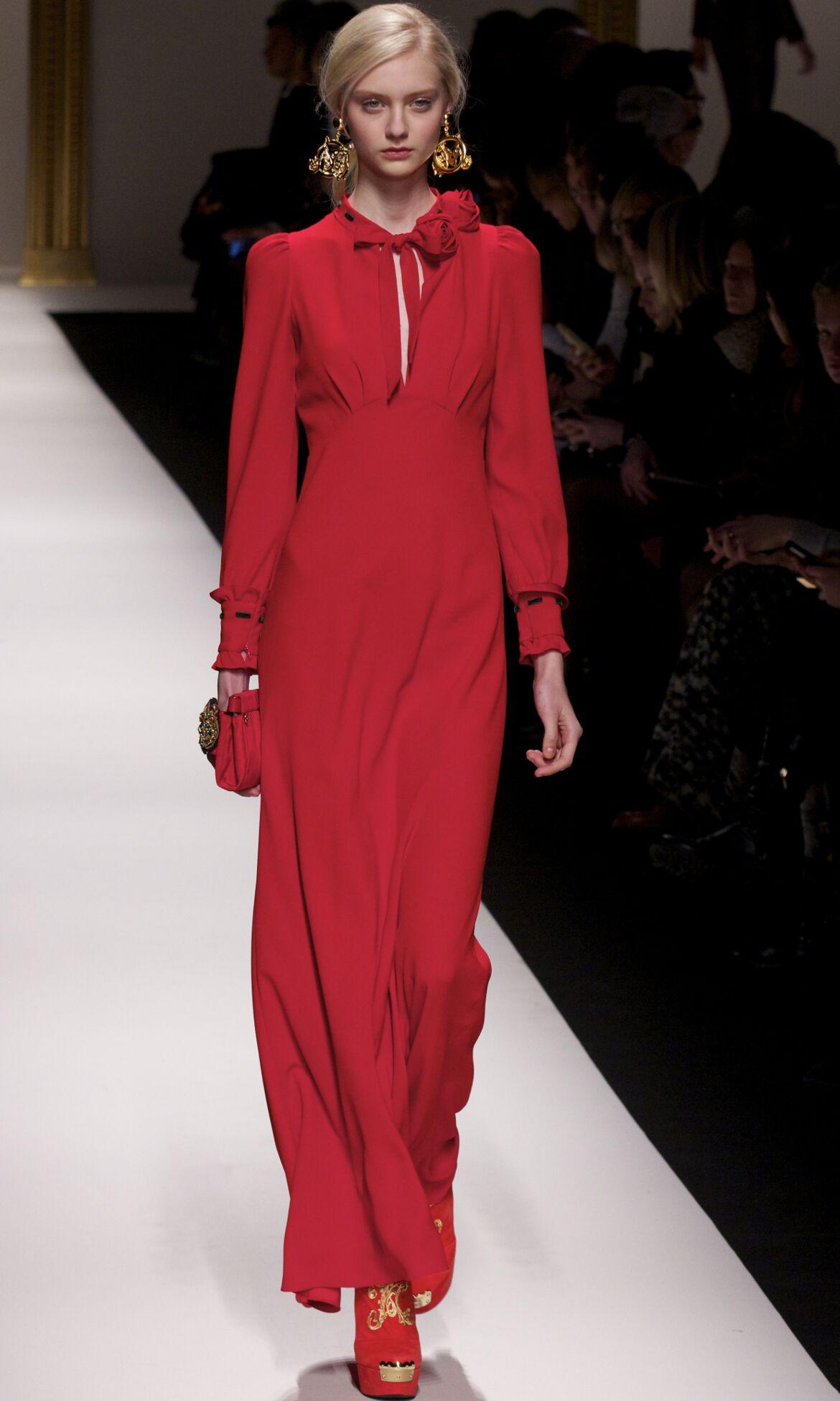 Winter Model Trends 2013 Woman Moschino