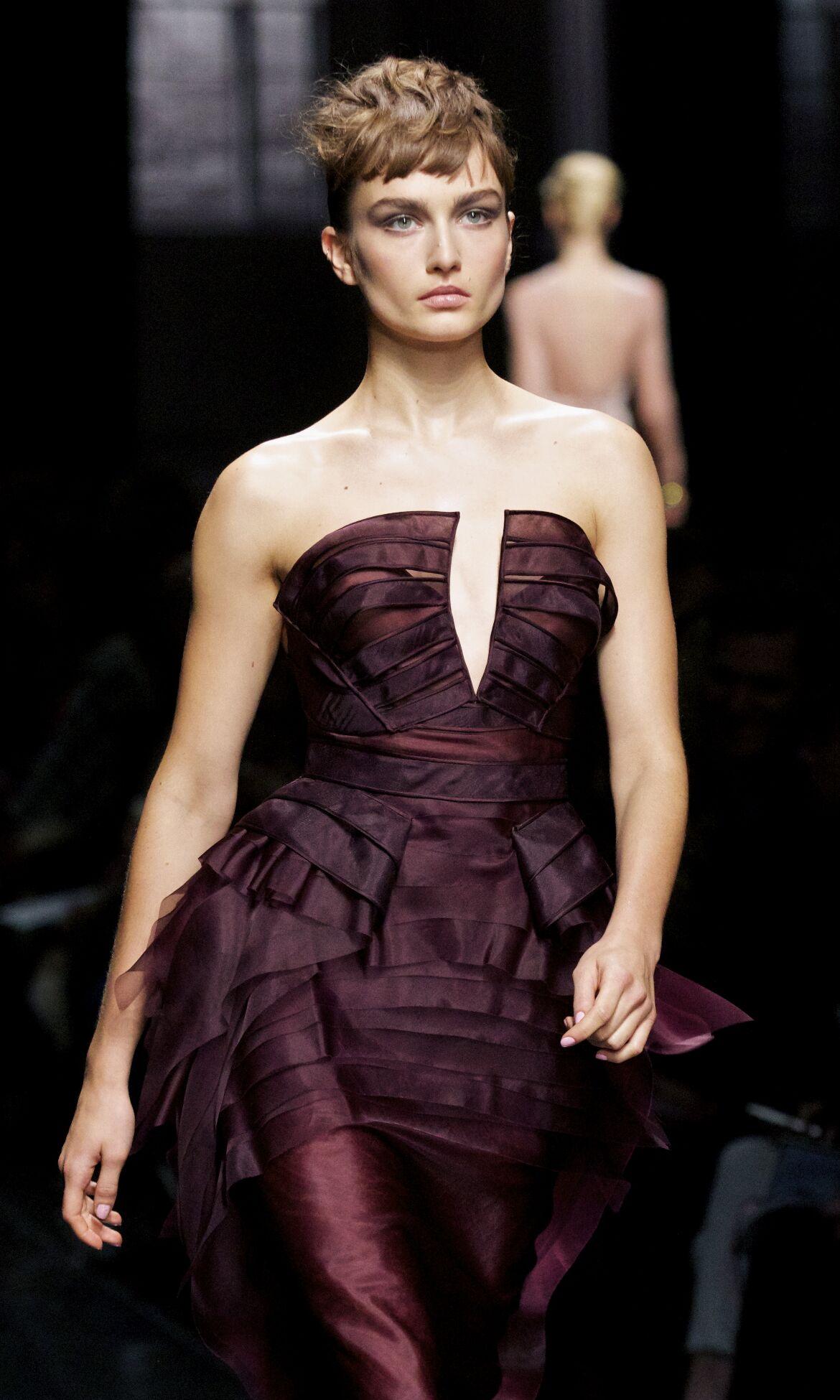 Catwalk Ermanno Scervino Fashion Show Winter 2013