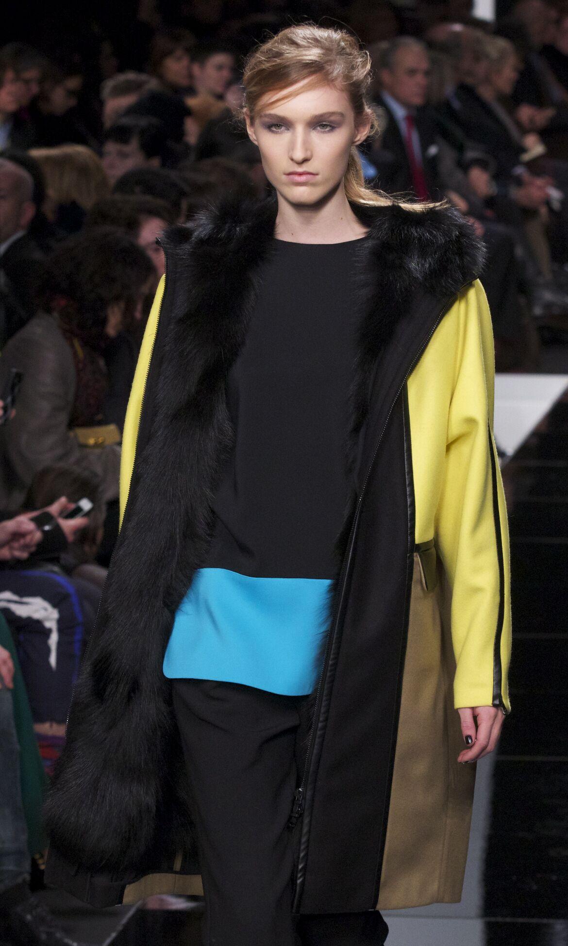 Fashion Woman Model Iceberg Catwalk