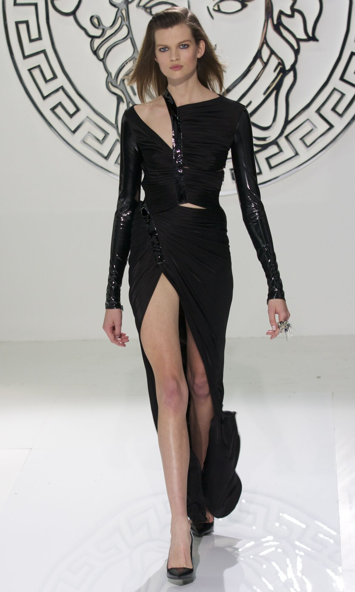Versace Fall 2013 Catwalk