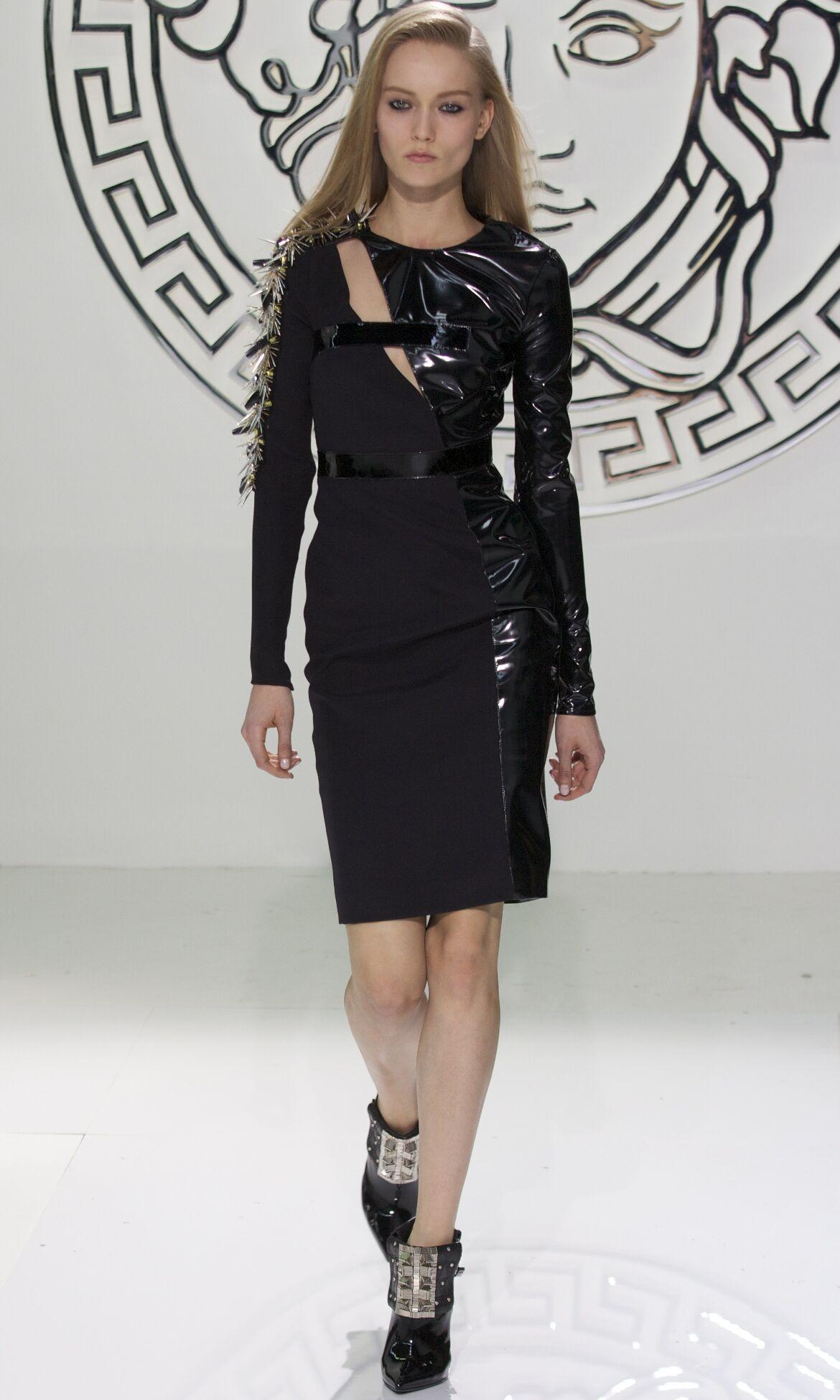 Versace Fashion Model