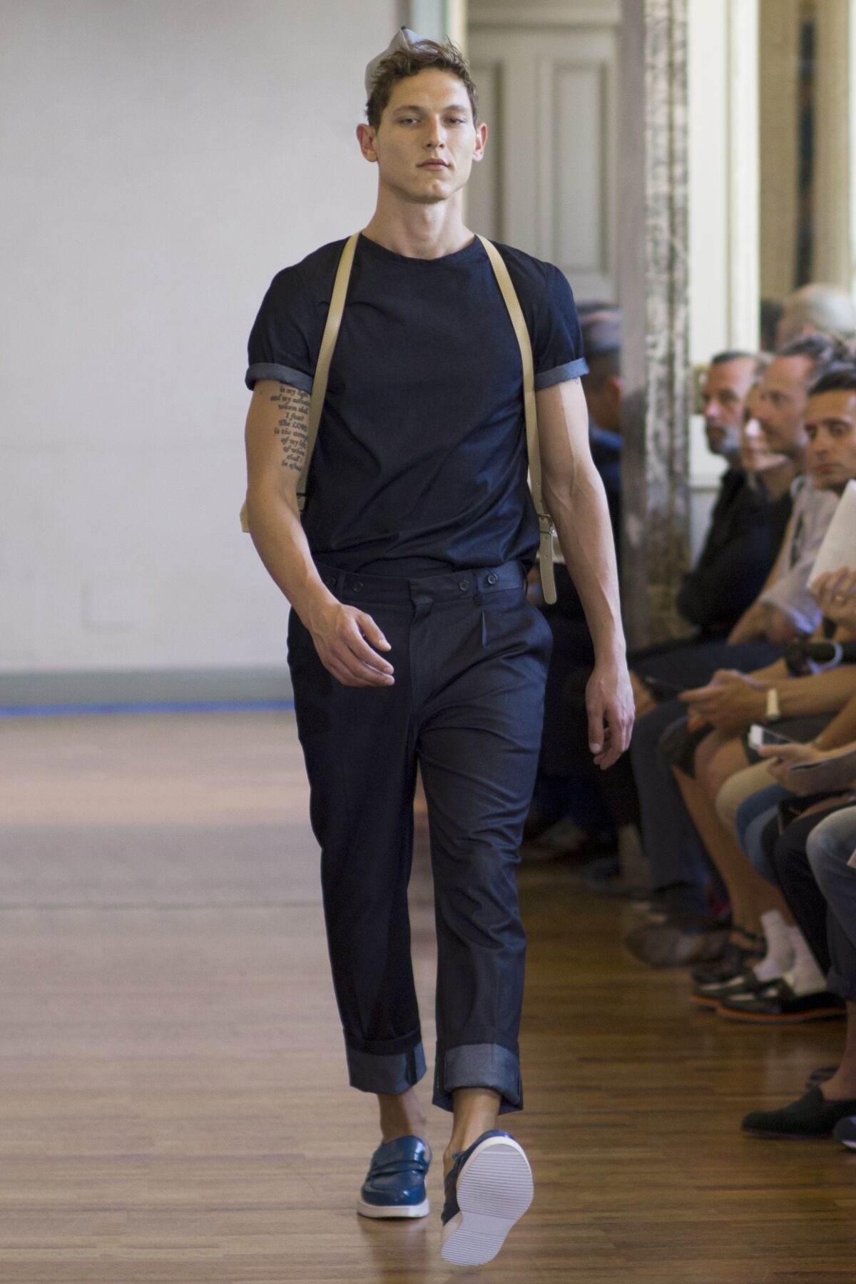 Andrea Incontri Spring Summer 2014 Men Collection Milan Fashion Week Fashion Show