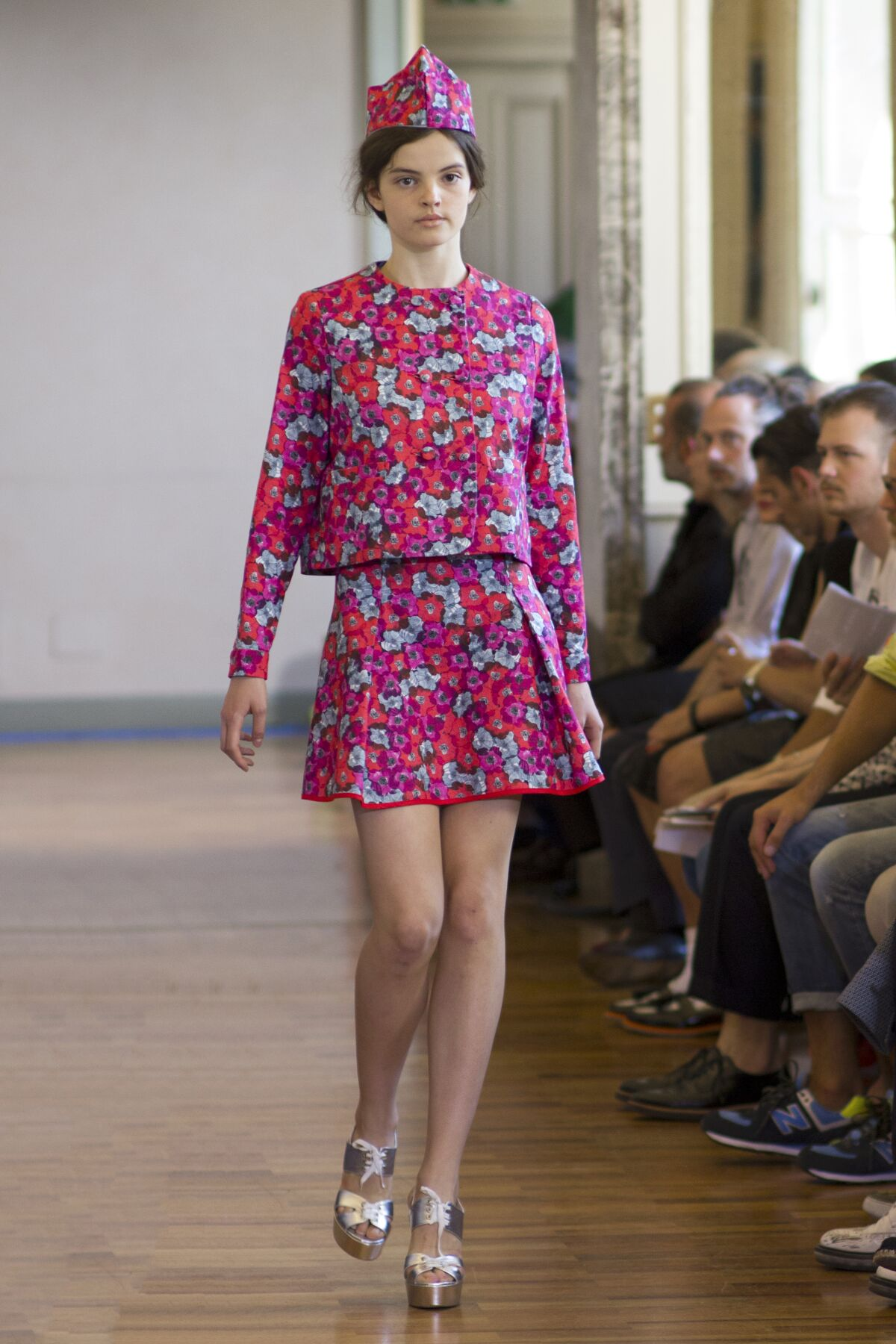 Andrea Incontri Summer 2014 Catwalk