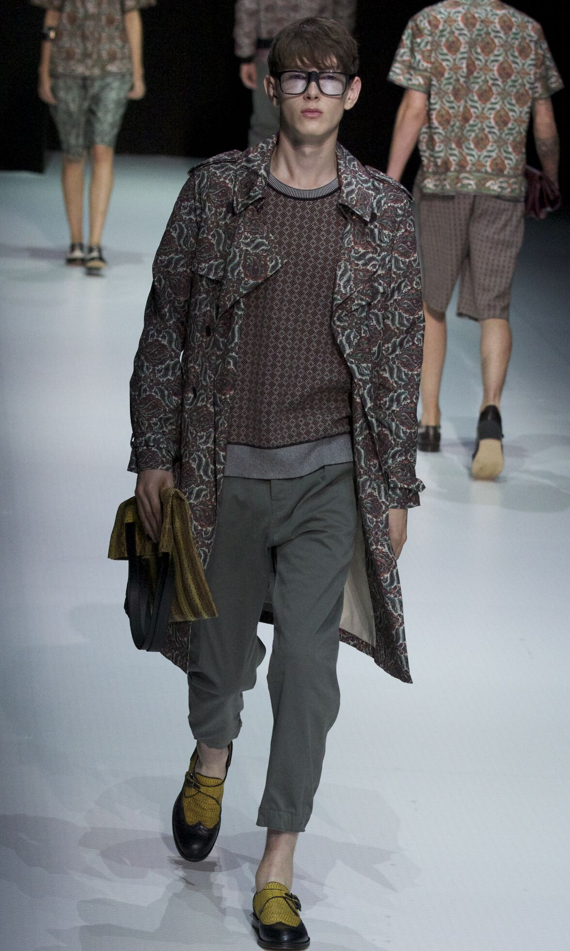 Andrea Pompilio Milano Fashion Week Menswear