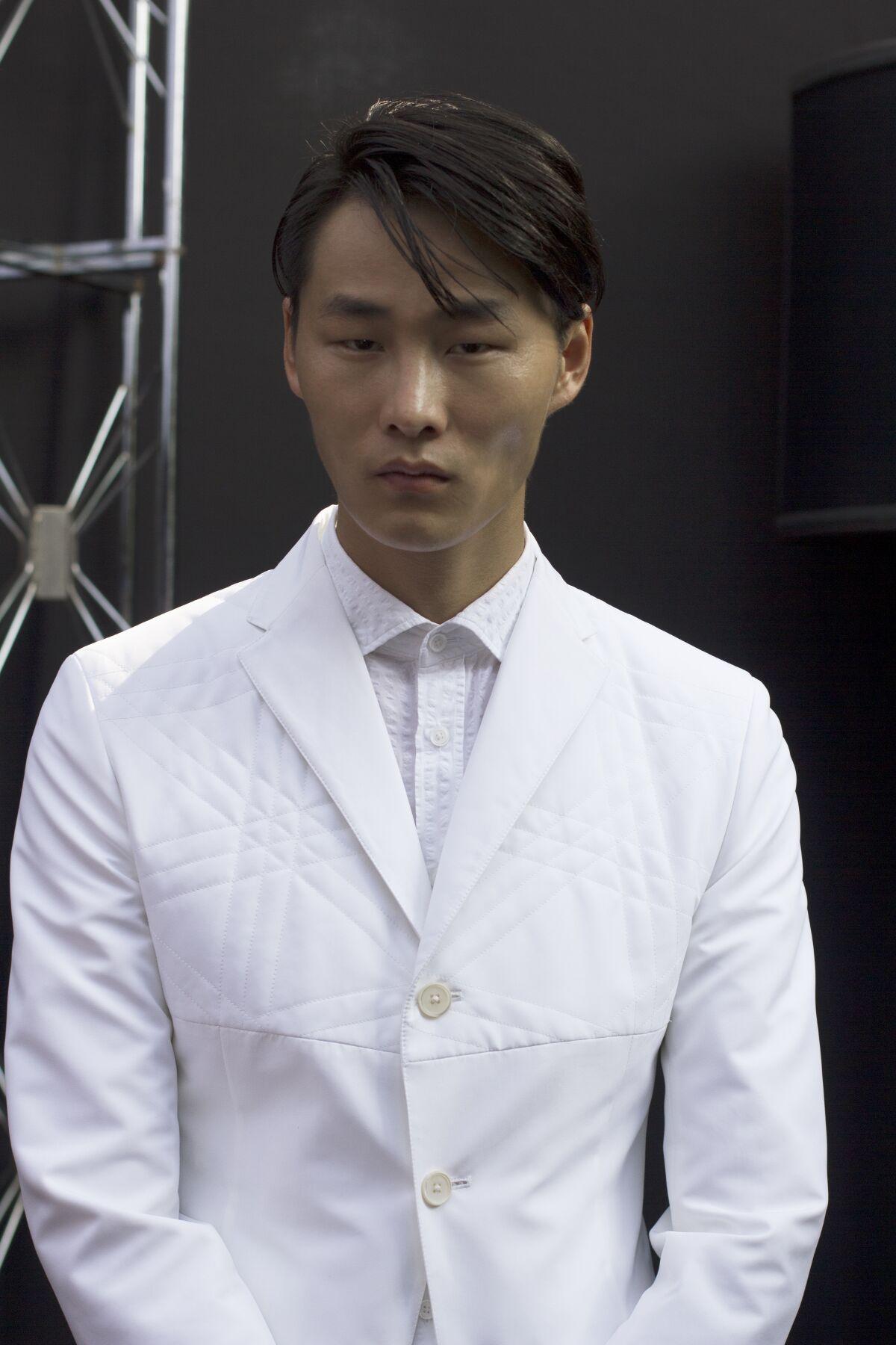 Backstage Fashion Man Model