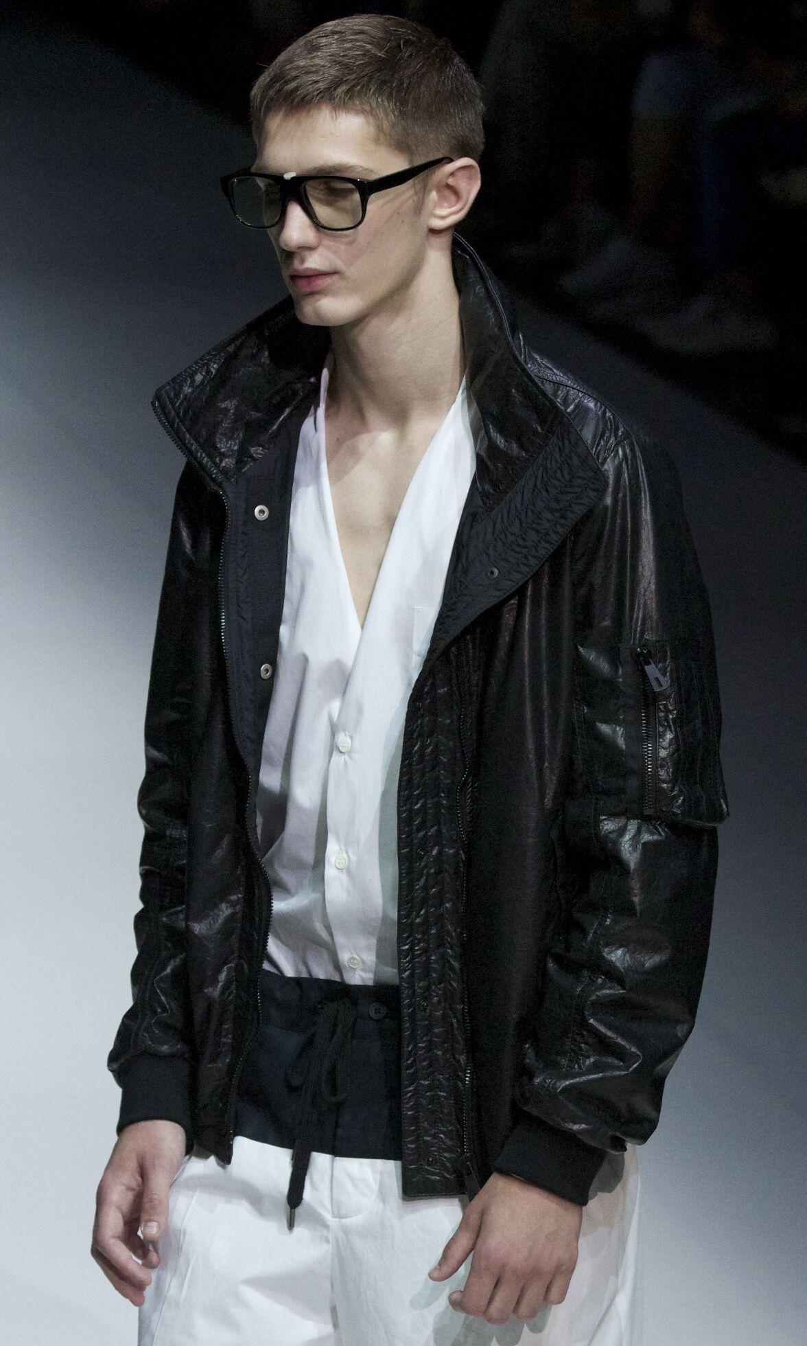 Catwalk Andrea Pompilio Spring Summer 2014 Men Collection Milano Fashion Week