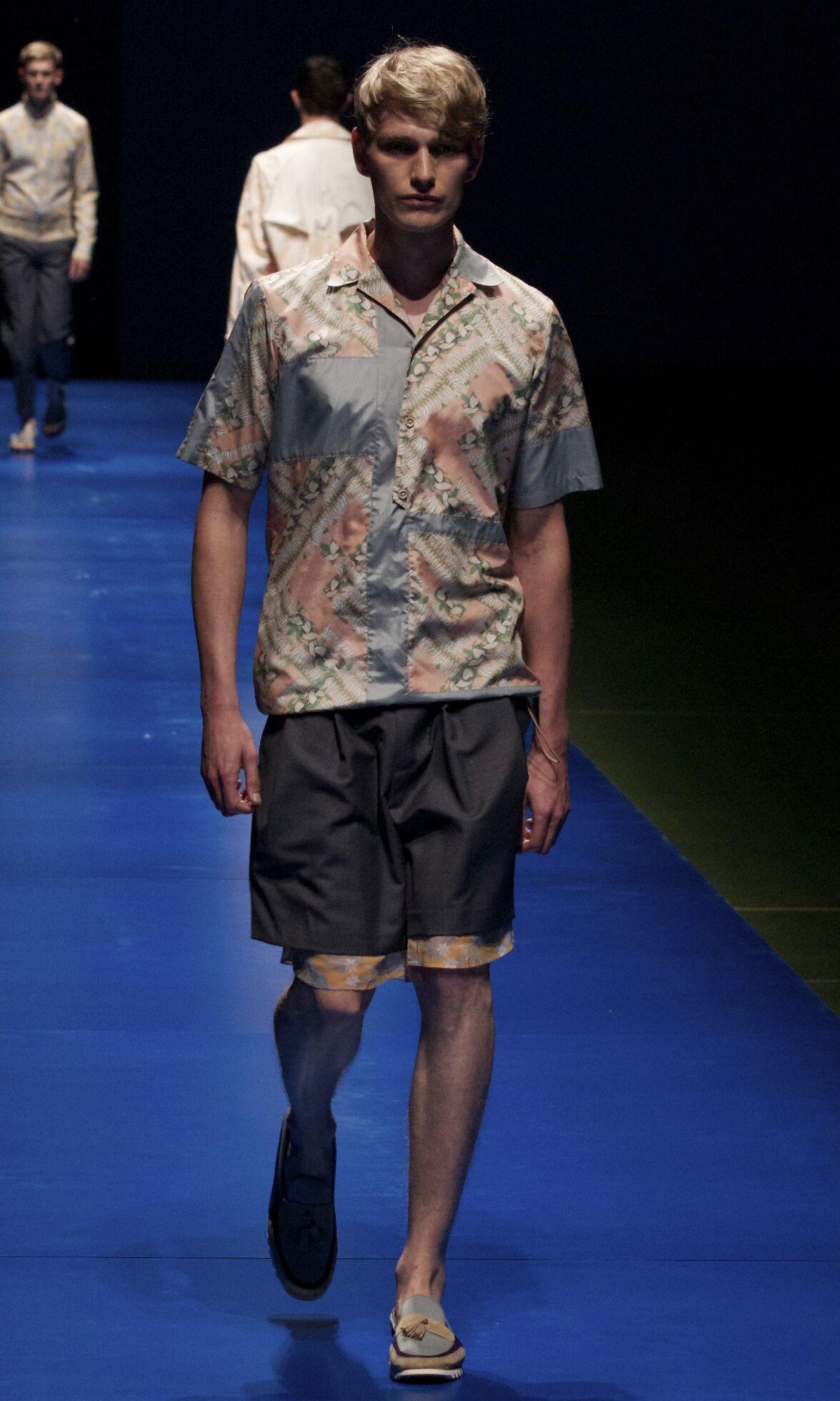 Catwalk Kolor Spring Summer 2014 Men Collection Pitti Uomo