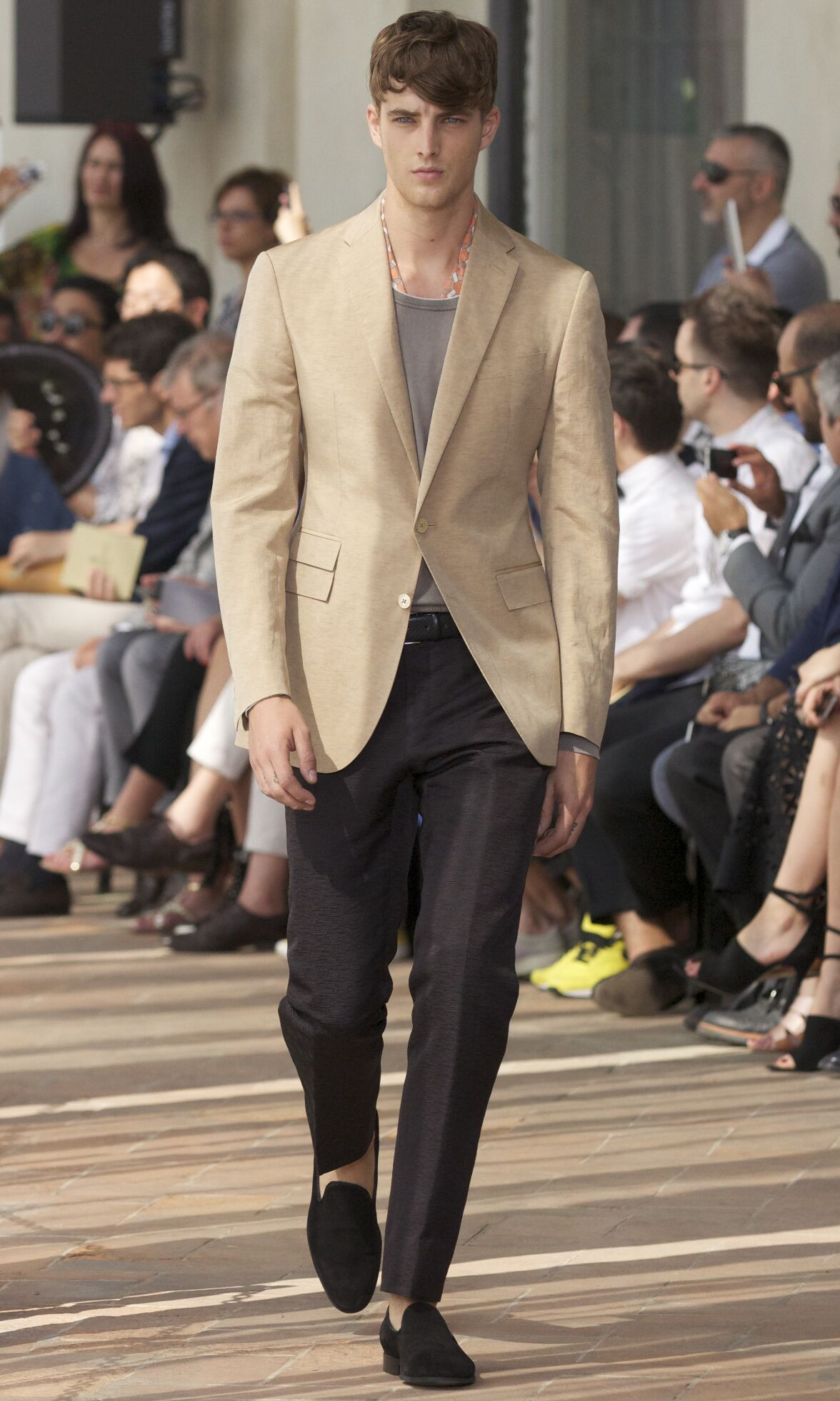 Corneliani Fashion Show SS 2014
