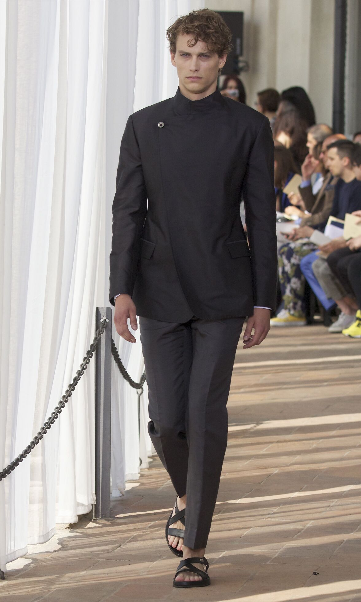 Corneliani Spring Summer 2014 Men Collection Milan Fashion Week Fashion Show