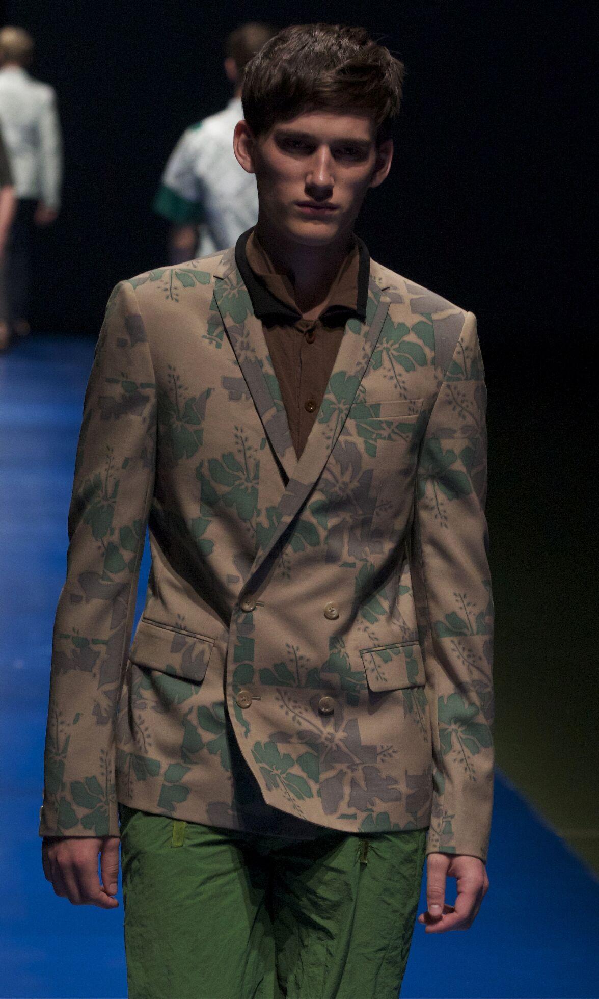Kolor Fashion Model