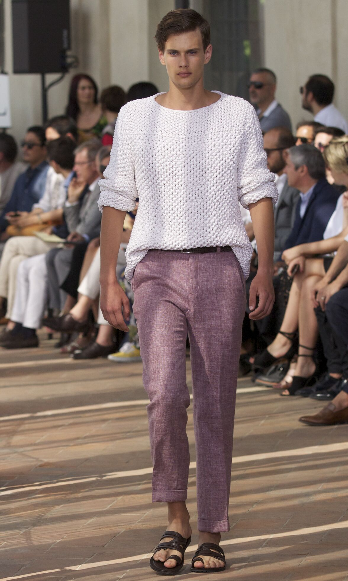 Runway Corneliani Spring Summer 2014 Men Collection Milan Fashion Week