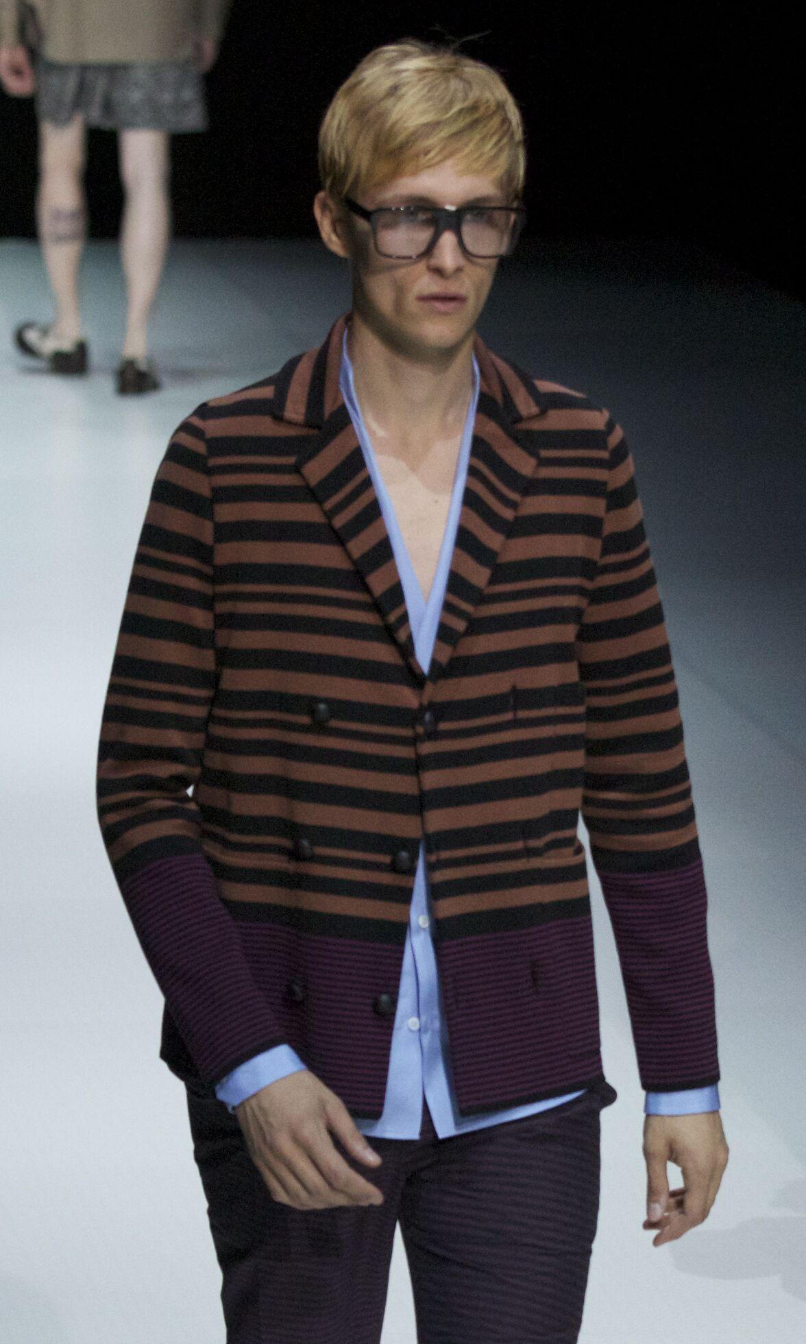 Spring 2014 Men Fashion Show Andrea Pompilio
