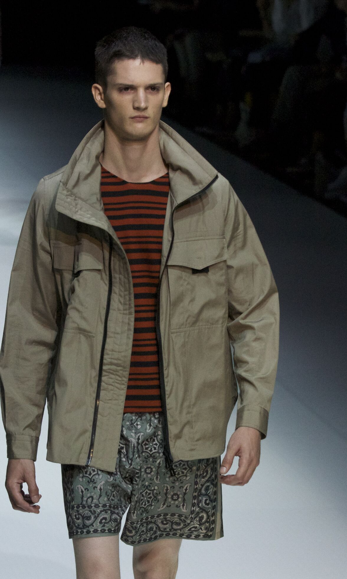 Spring Andrea Pompilio Fashion Man