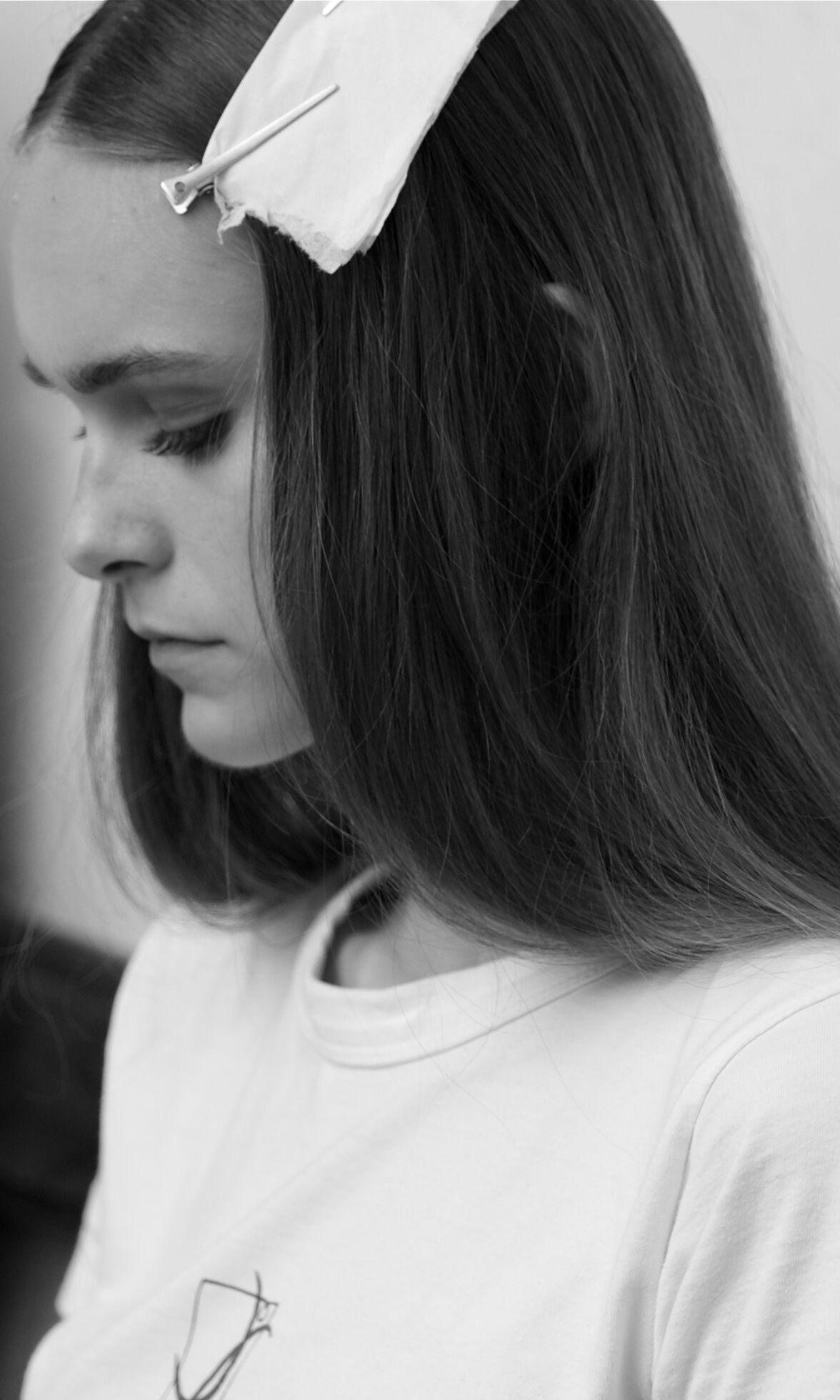 Women Backstage Damir Doma Hair Style