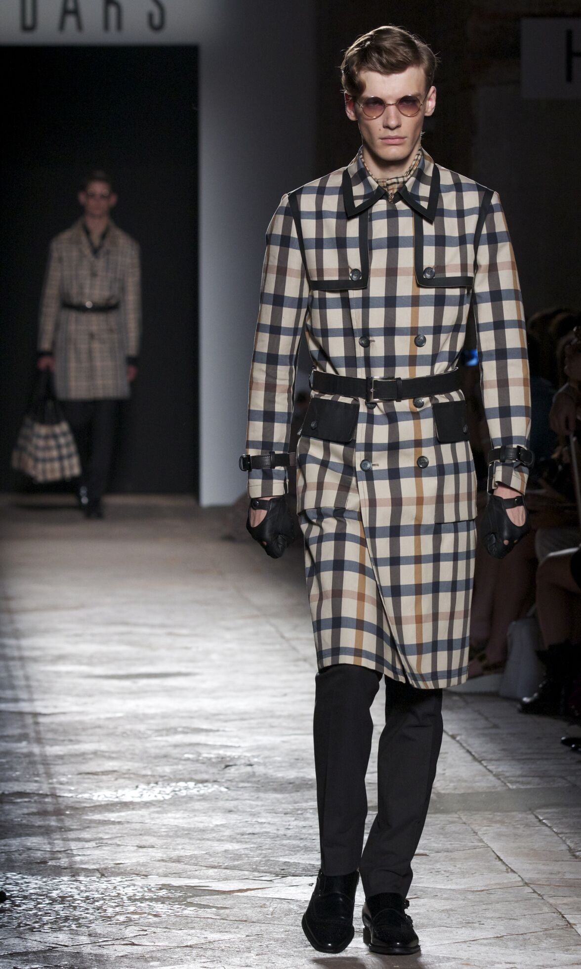 Fashion Model Daks Catwalk