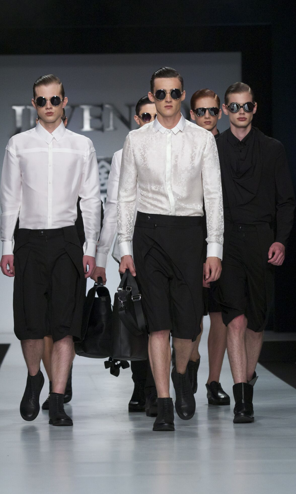 Ji Wenbo Milano Fashion Week Menswear