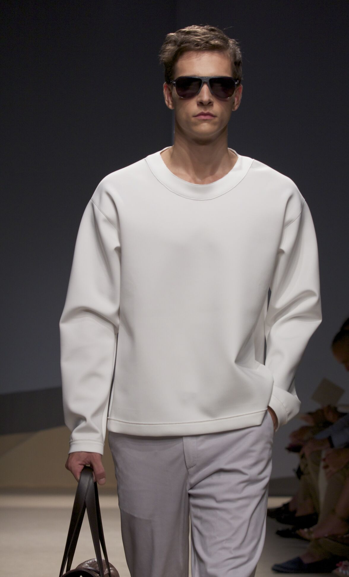Trussardi Milano Fashion Week Menswear