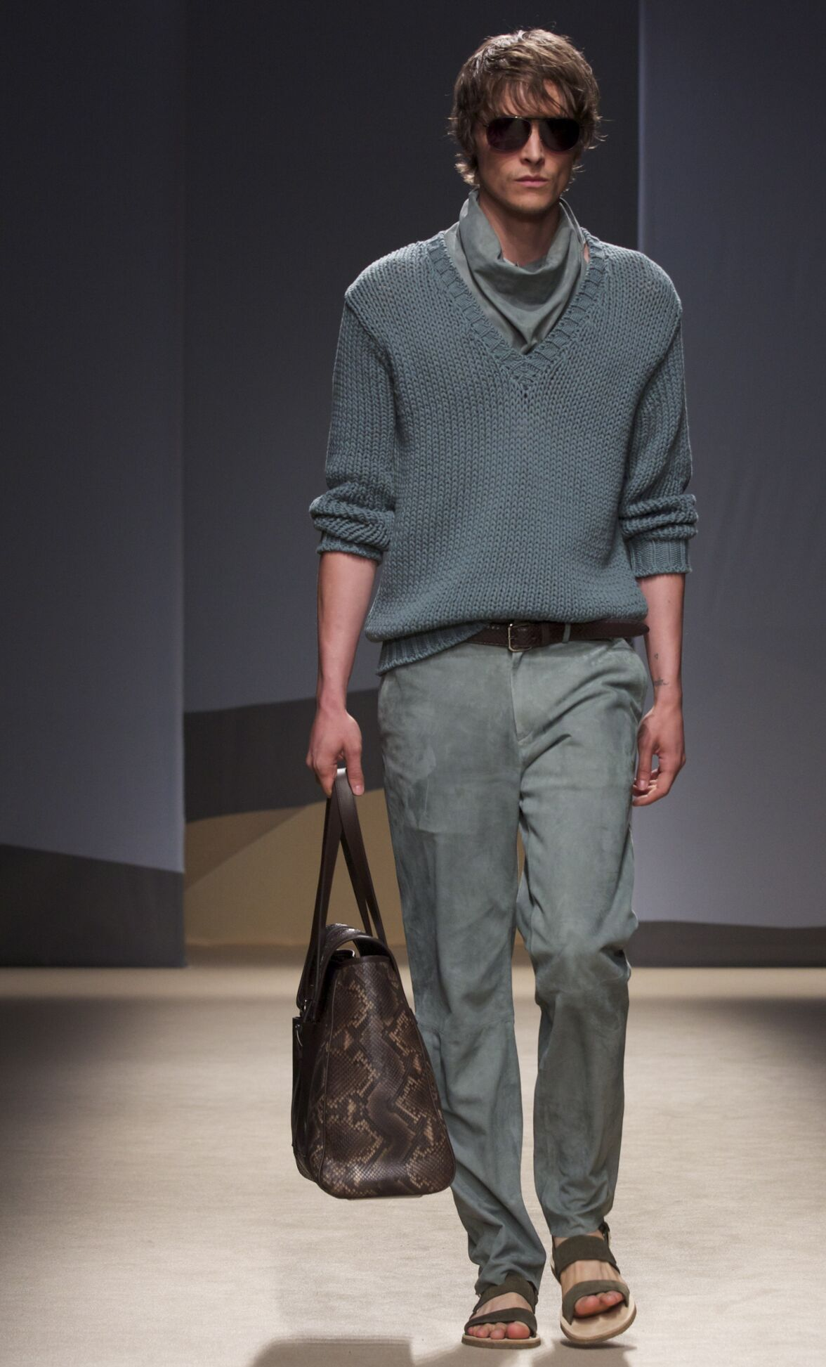 Trussardi Spring Summer 2014 Mens Collection Milano Fashion Week