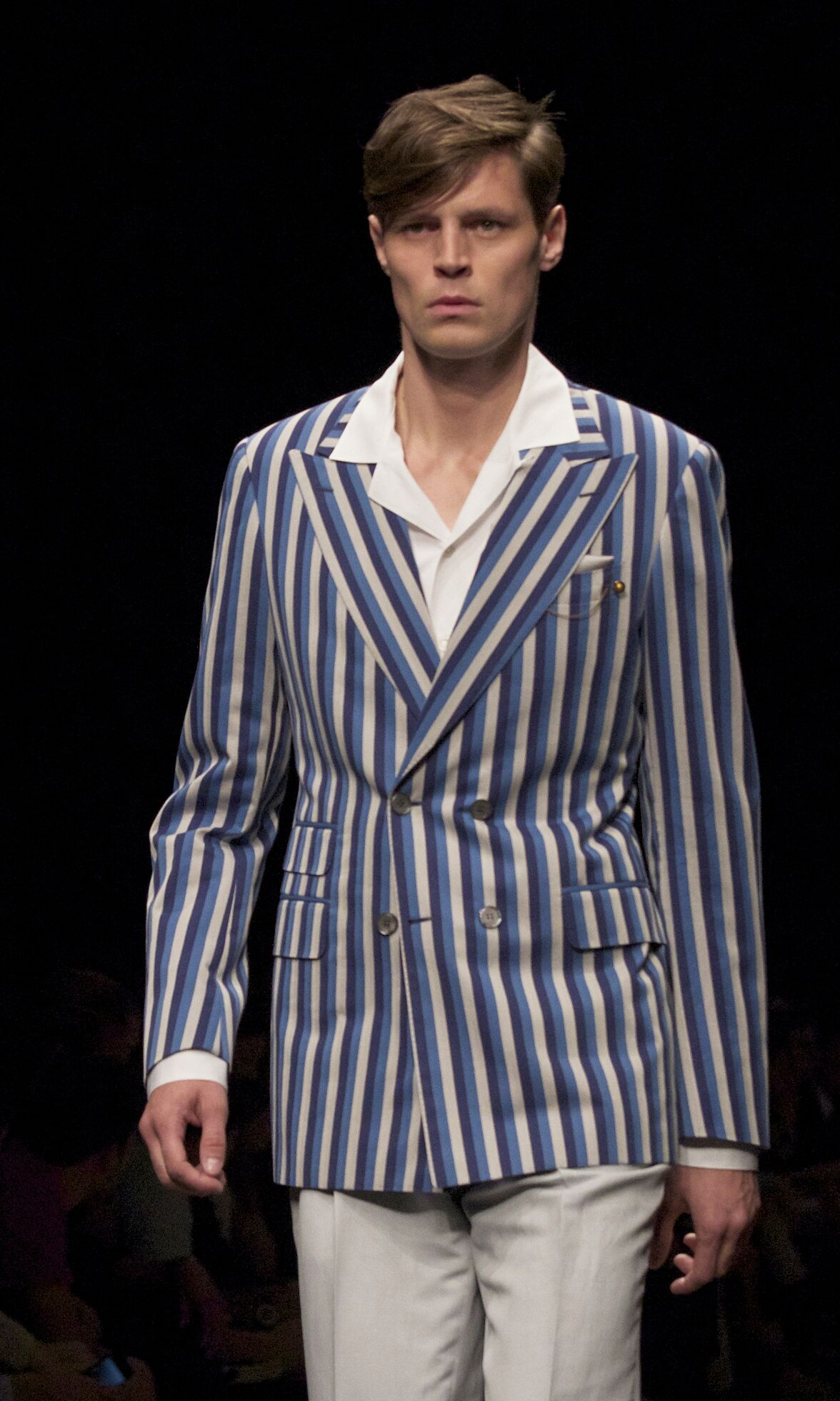 2014 Fashion Model Canali Catwalk