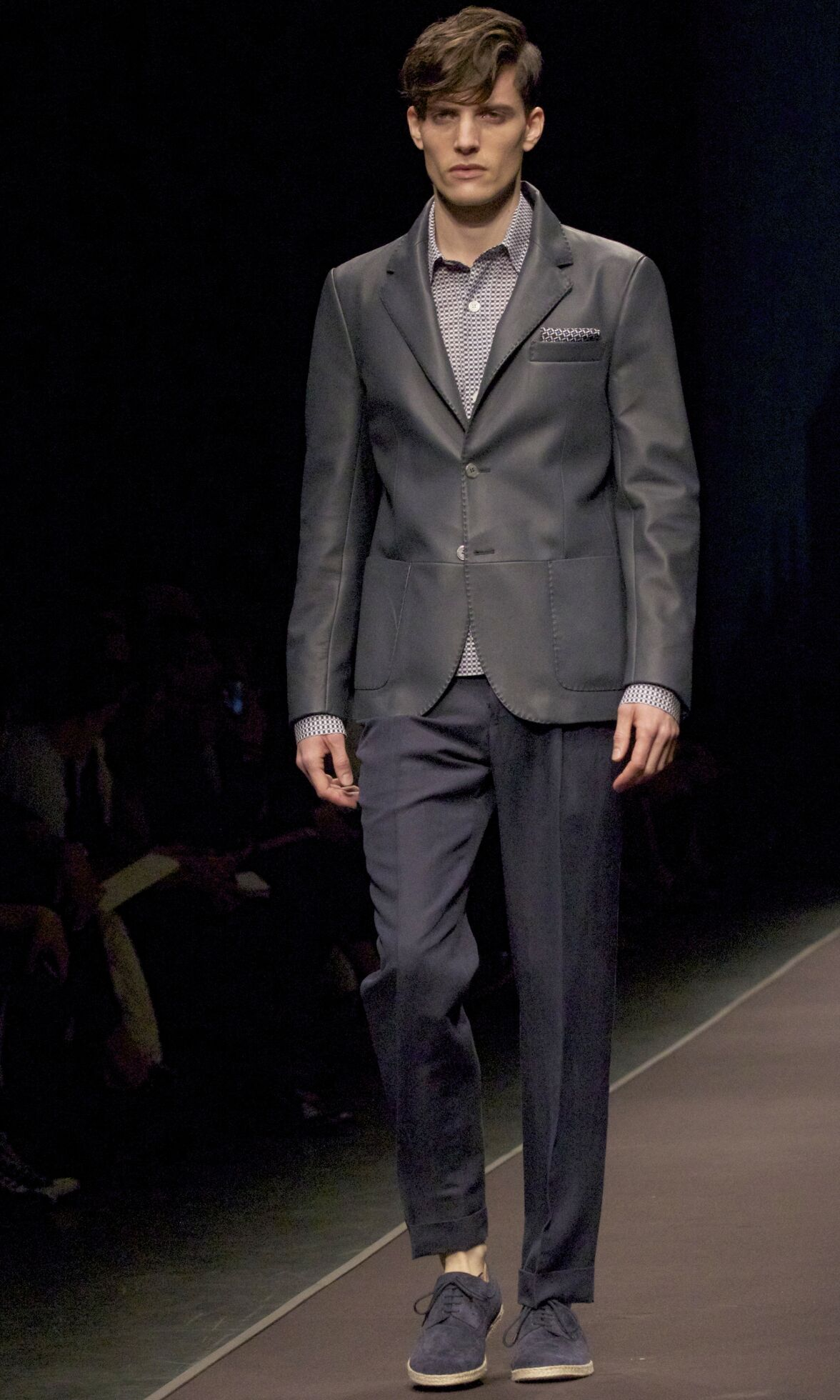 Canali Spring 2014 Catwalk