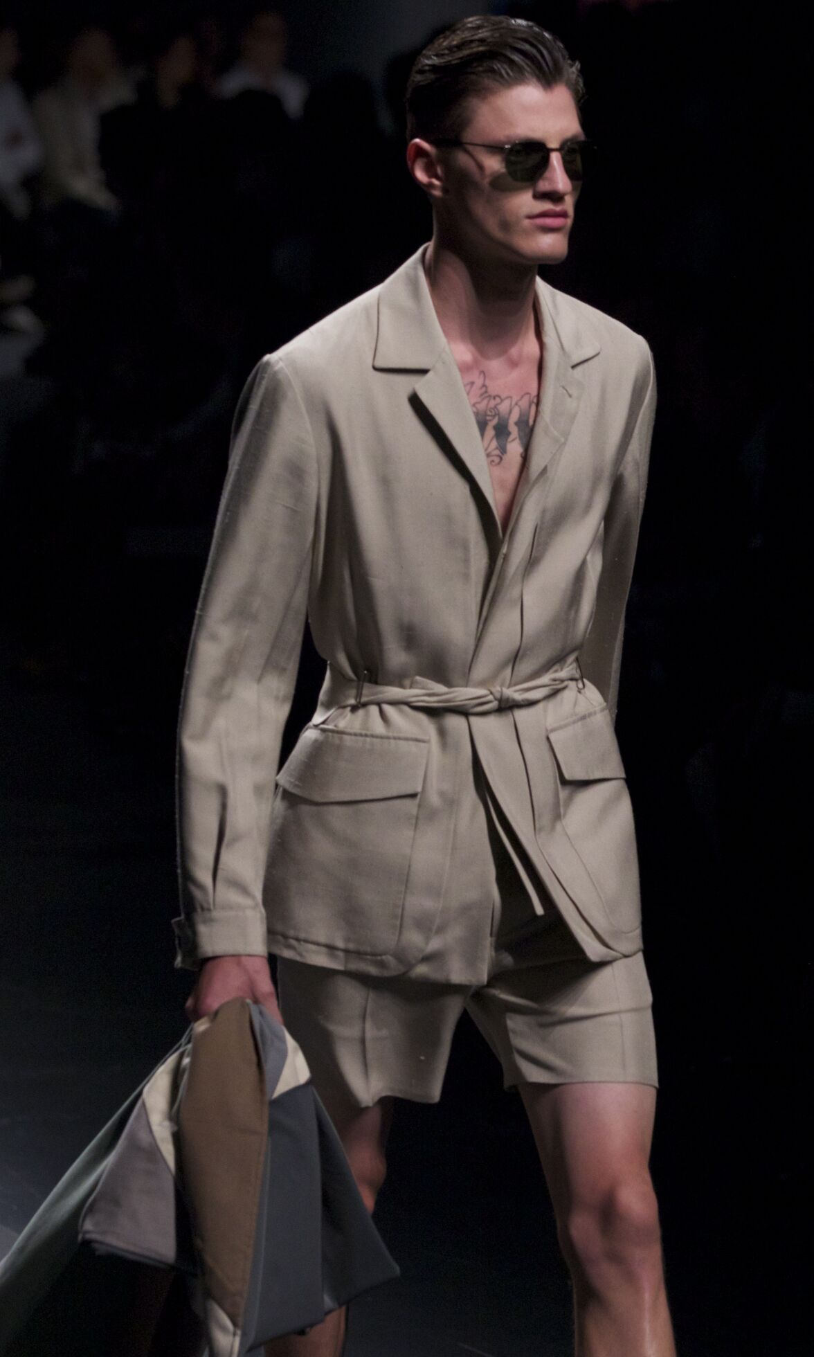 Catwalk Ermenegildo Zegna Man Fashion Show Summer 2014