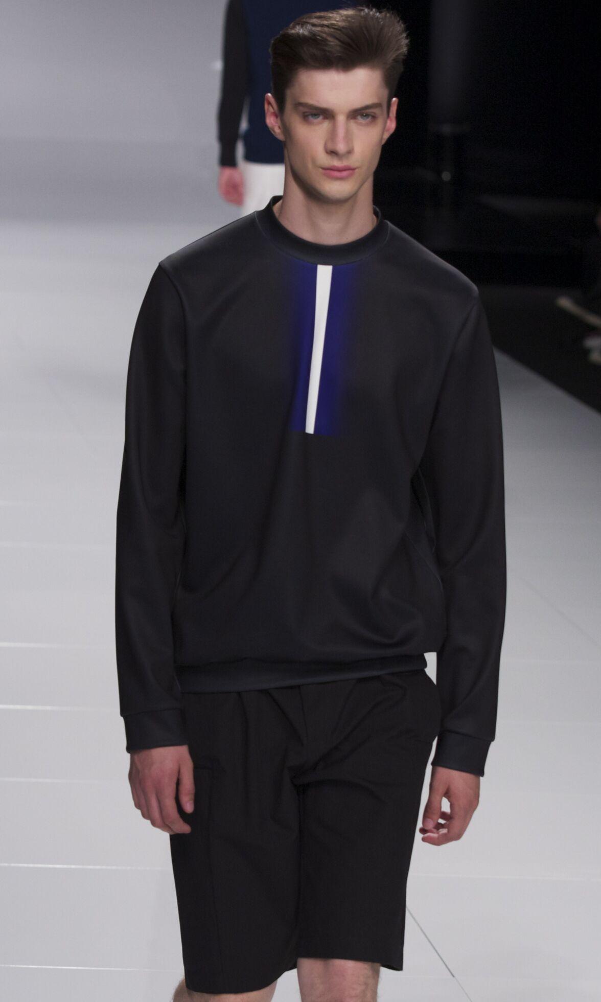 Catwalk Iceberg Man Fashion Show Summer 2014