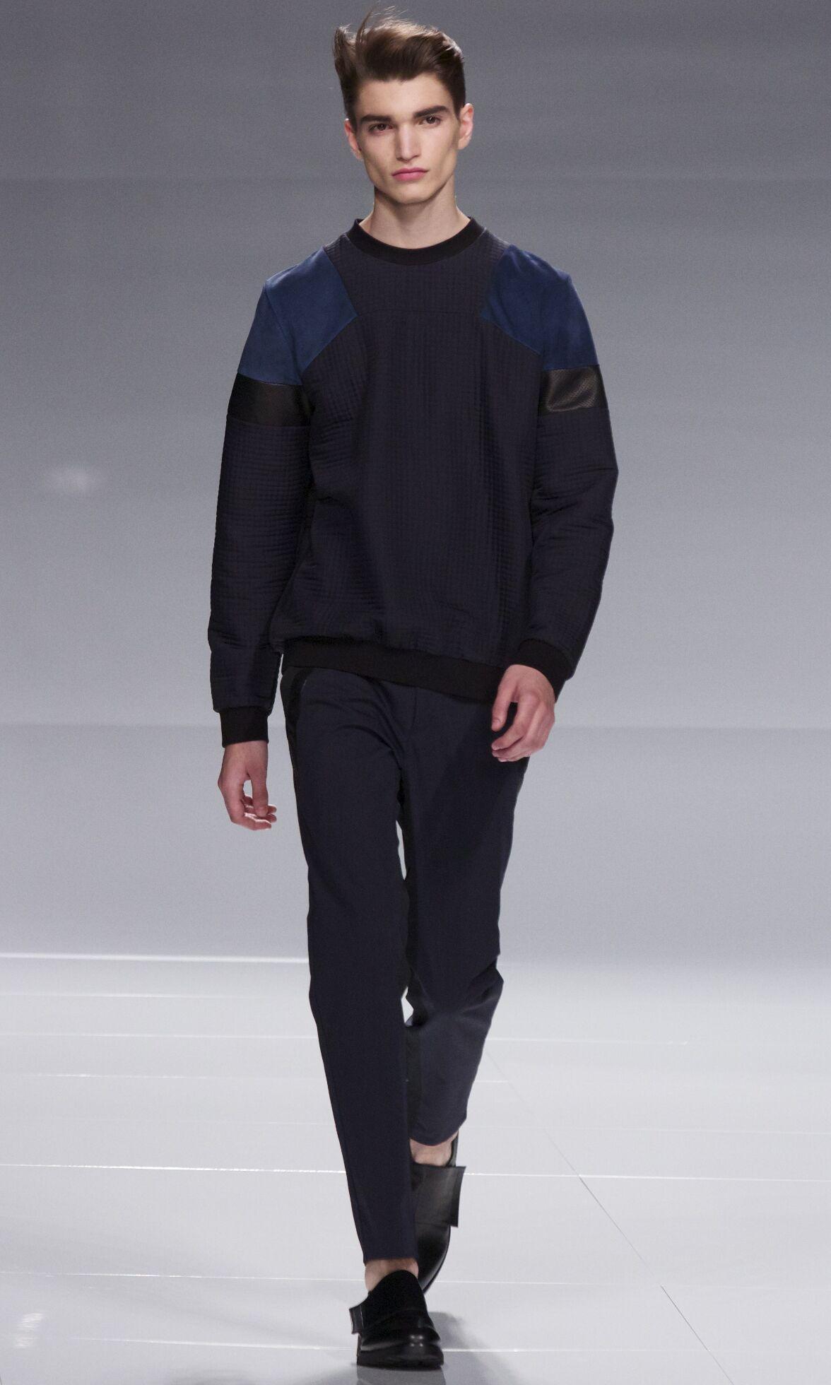 Iceberg Man Milano Fashion Week