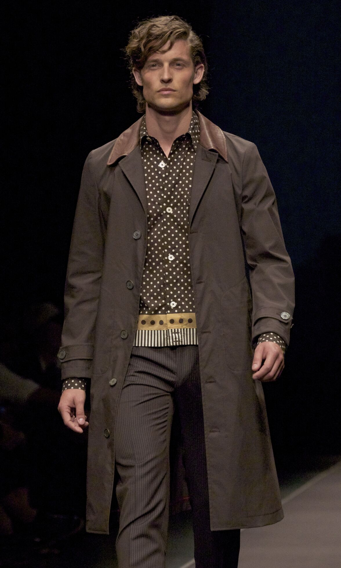 Runway Canali Spring Summer 2014 Men Collection Milan Fashion Week