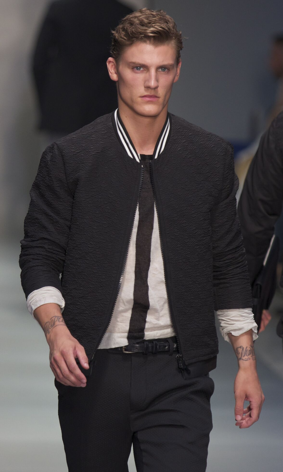 Runway Ermanno Scervino Spring Summer 2014 Men Collection Milan Fashion Week