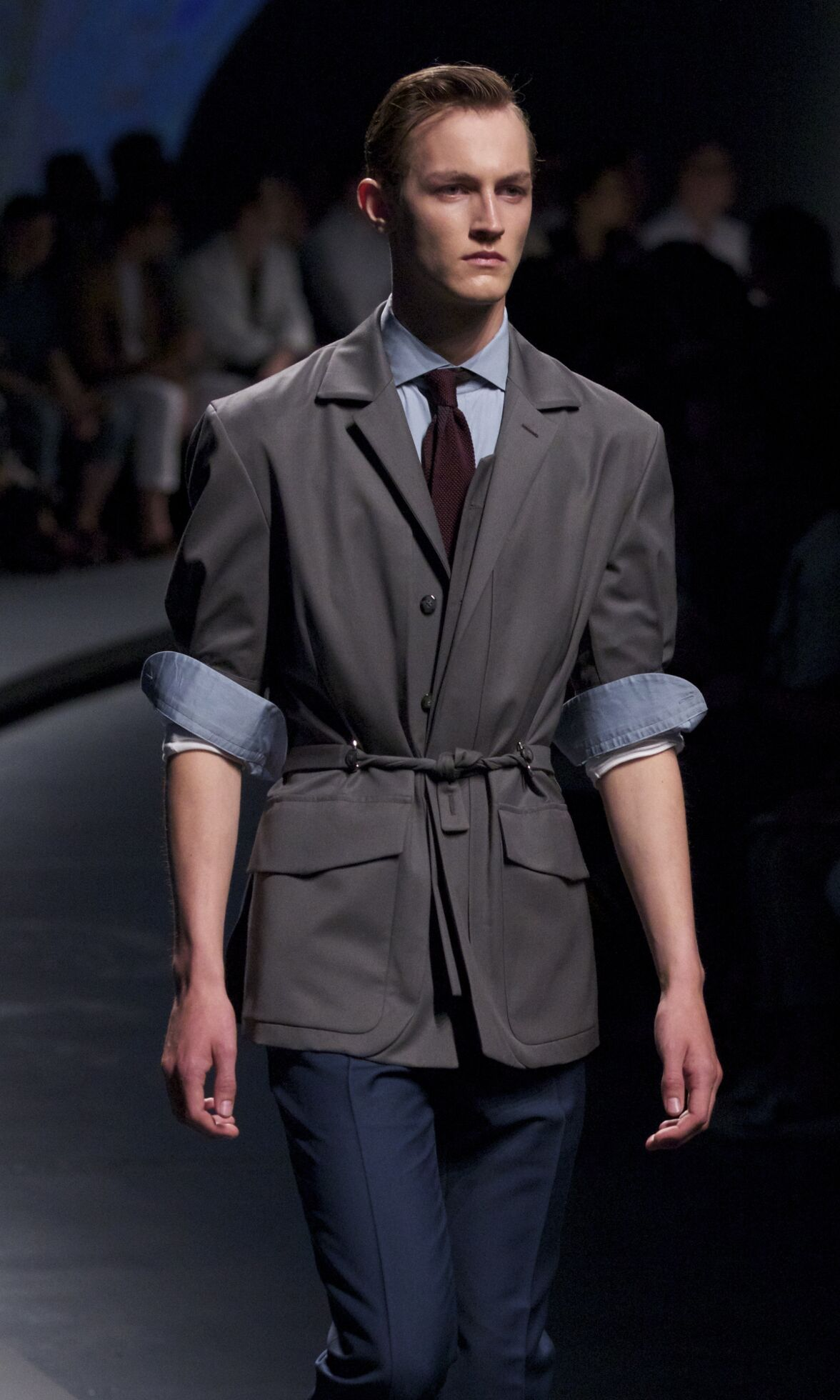 Spring 2014 Man Fashion Show Ermenegildo Zegna