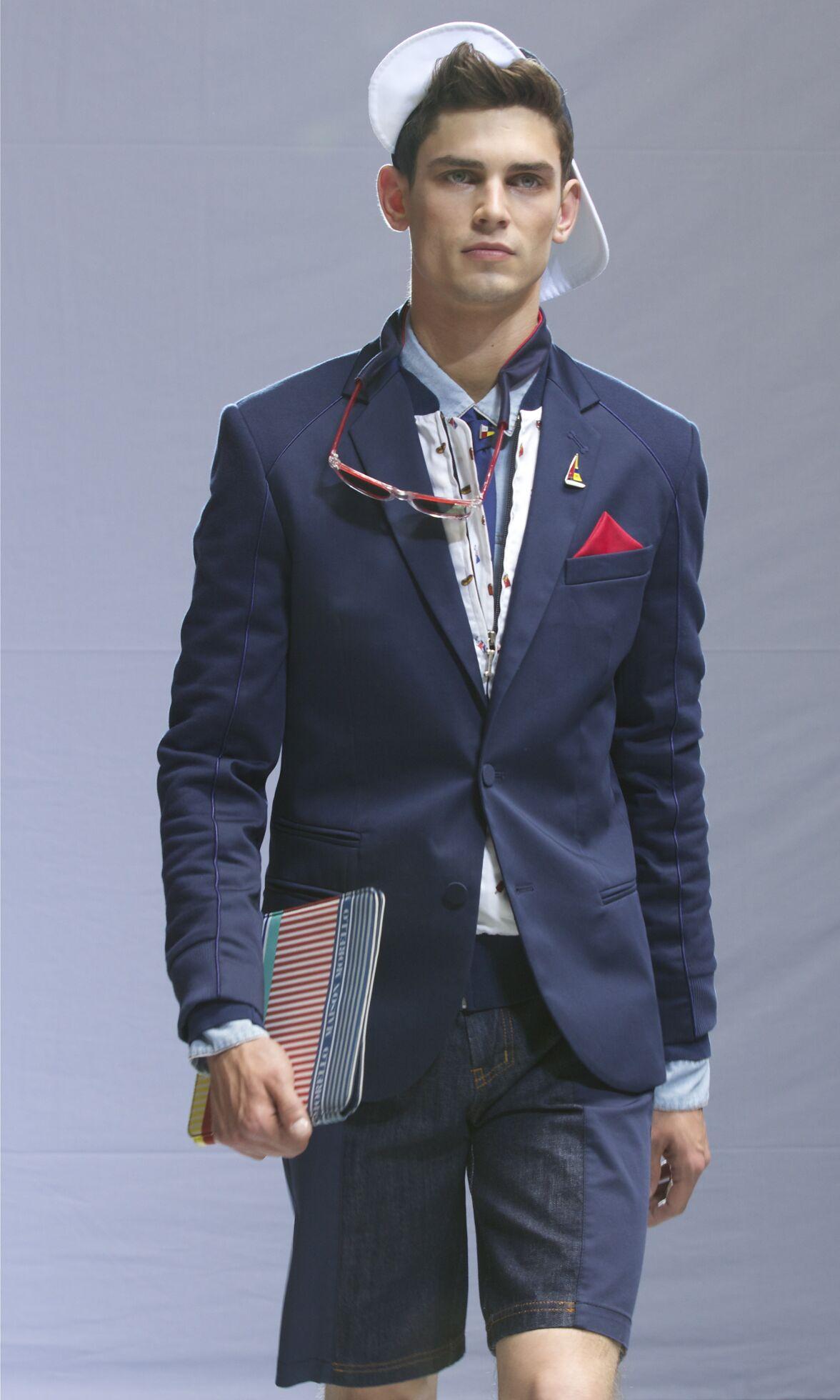 Spring 2014 Man Fashion Show Frankie Morello