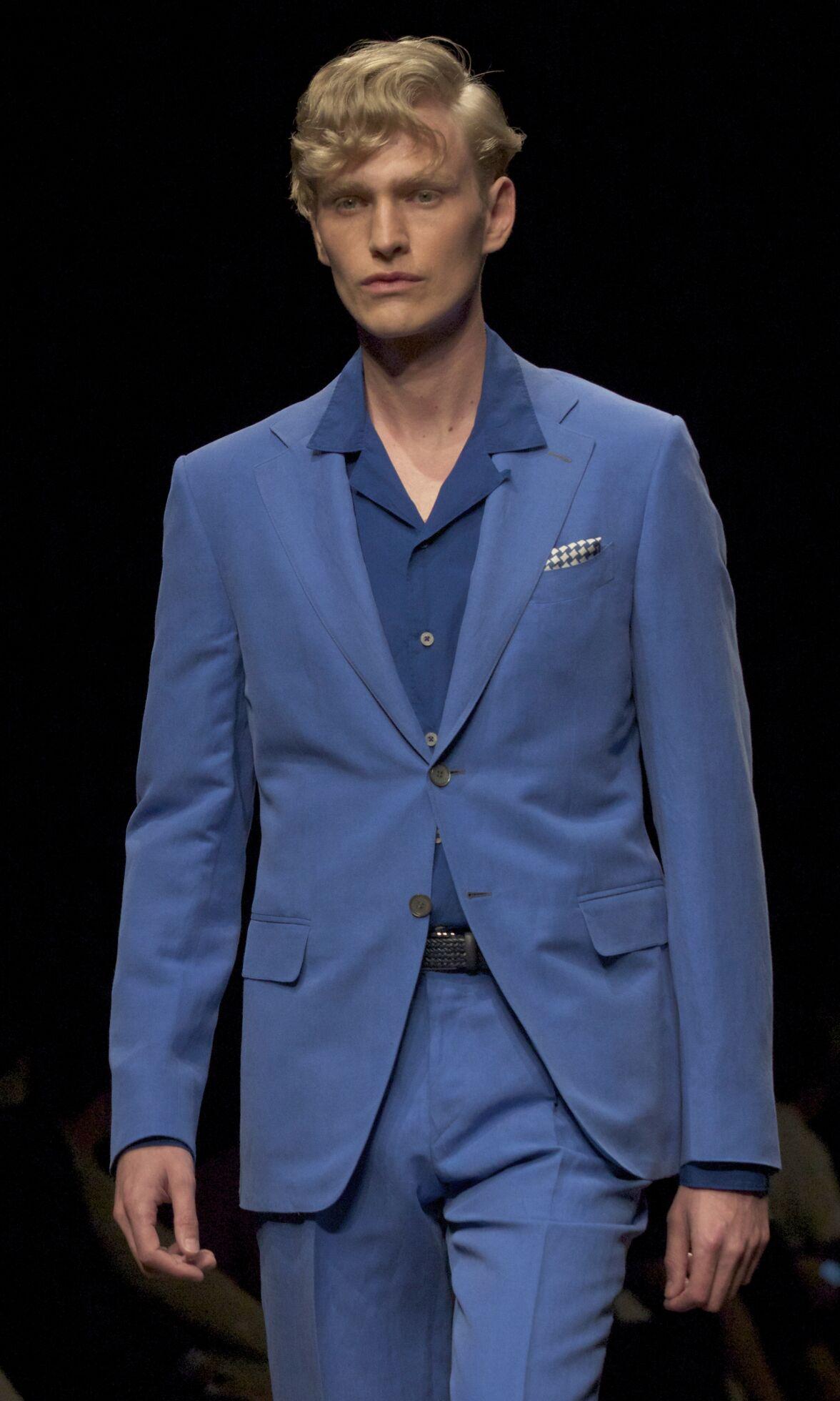 Spring Suit 2014 Man Milan Canali