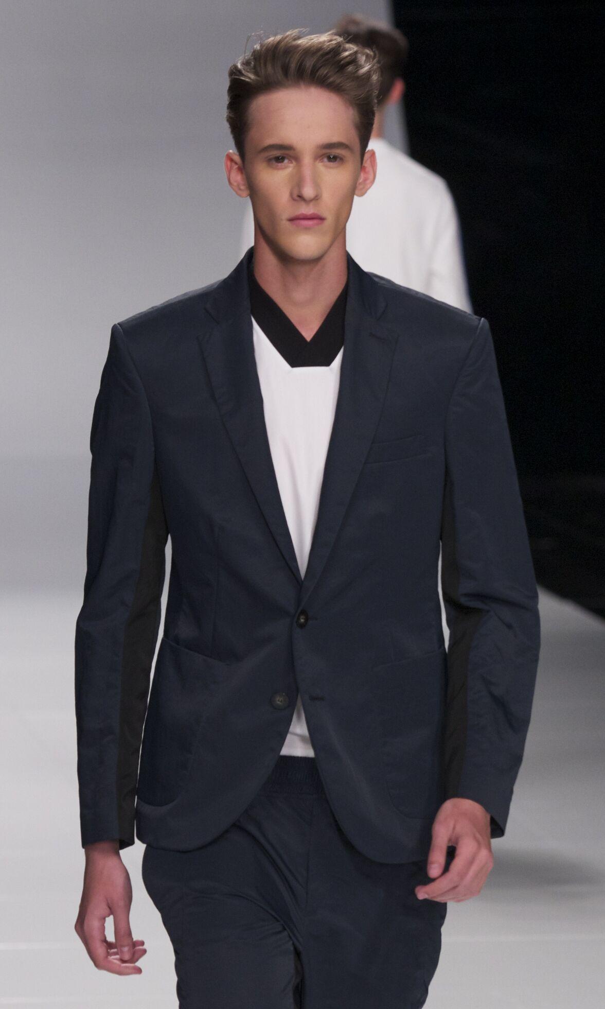 Spring Suit 2014 Man Milan Iceberg