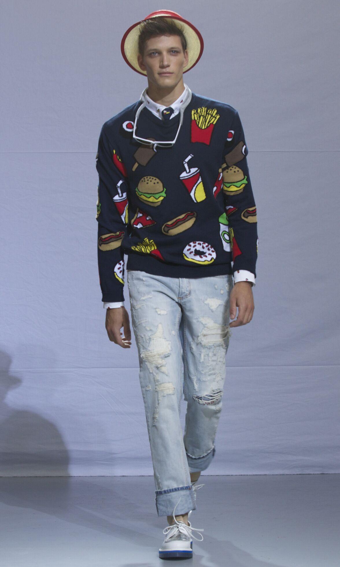 Summer 2014 Fashion Show Frankie Morello