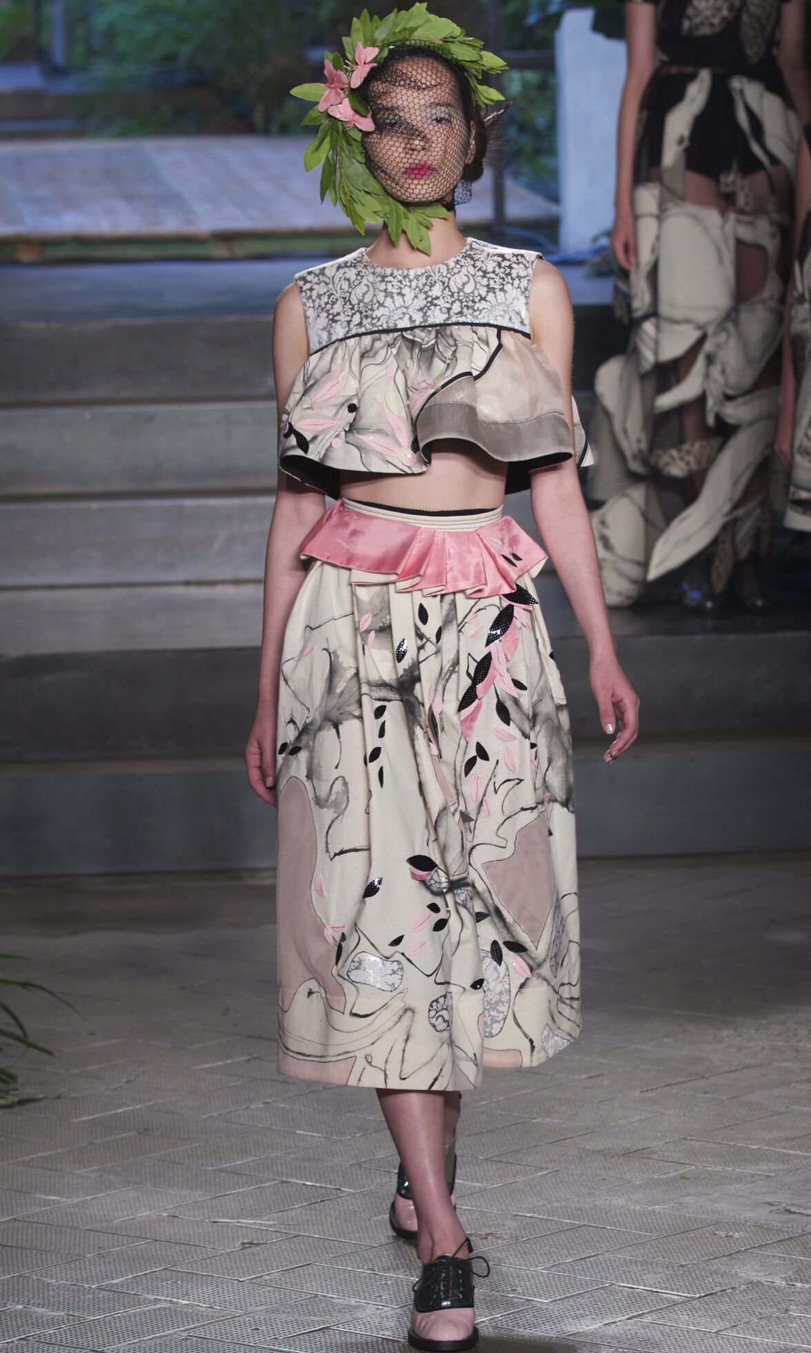 2014 Catwalk Antonio Marras Woman Fashion Show Summer