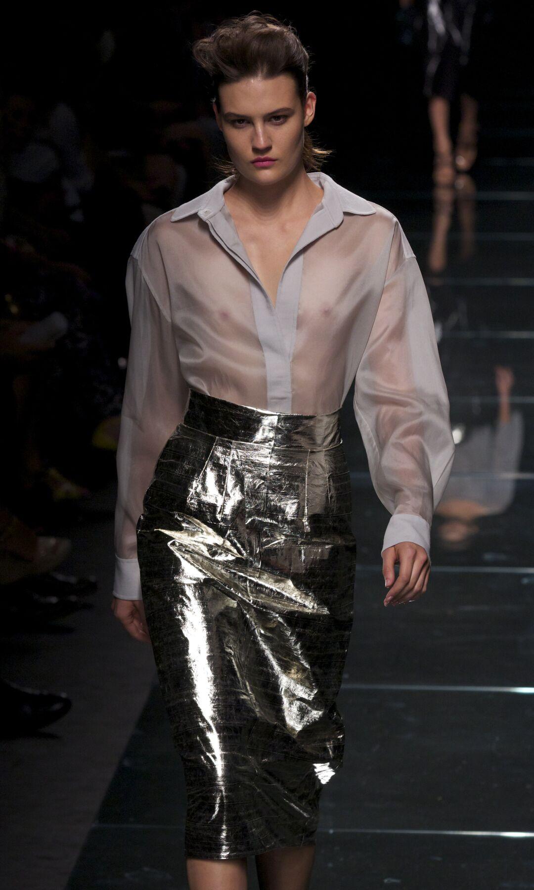 Anteprima Catwalk Fashion Trends Milan