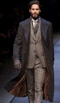 CANALI FALL WINTER 2013 MEN'S COLLECTION – MILANO FASHION WEEK