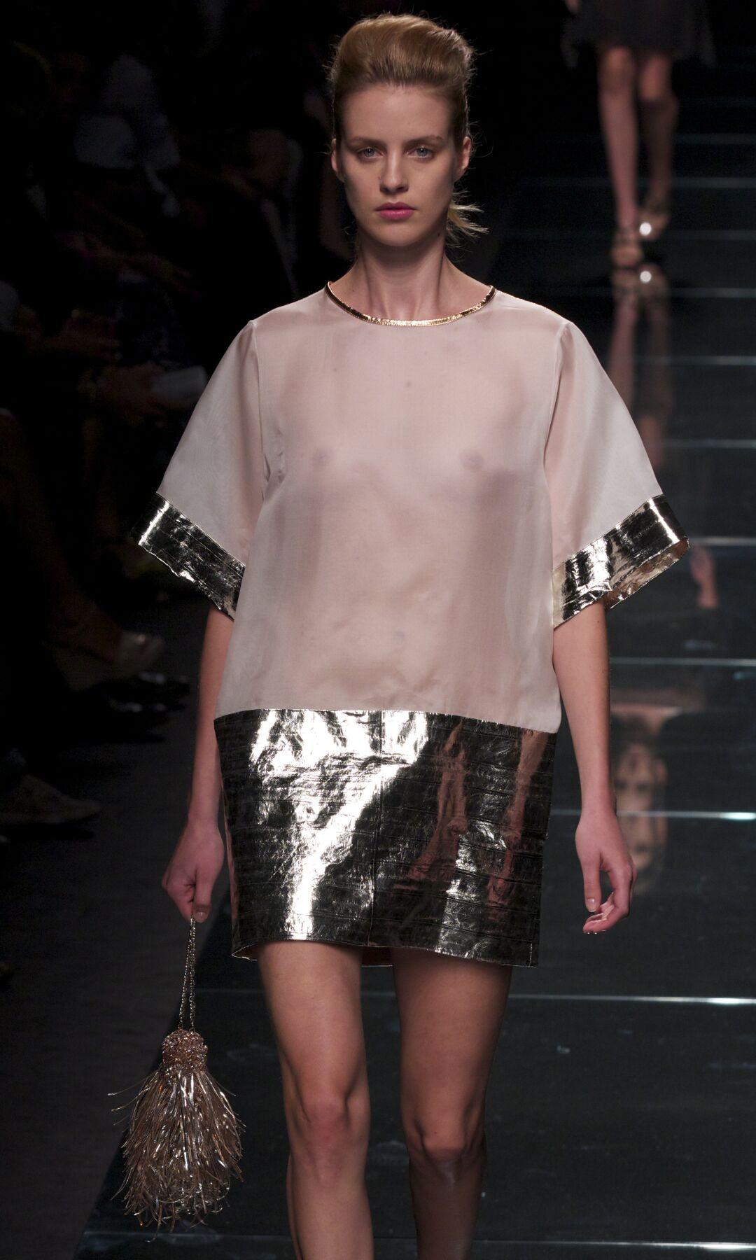Catwalk Anteprima Woman Fashion Show Summer 2014