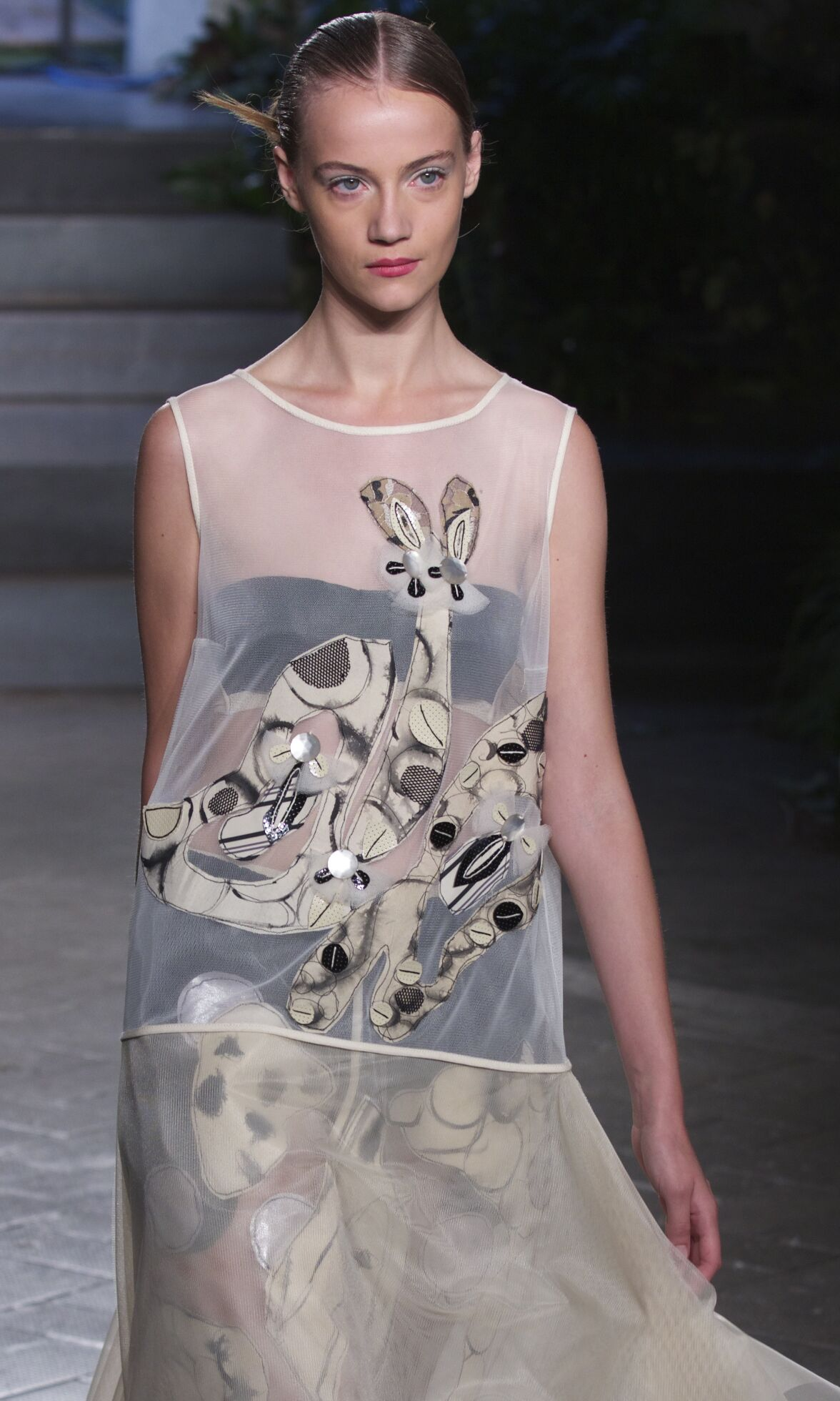 Catwalk Antonio Marras Woman Fashion Show Summer 2014