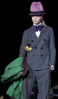 DSQUARED2 FALL WINTER 2013-14 WOMEN'S COLLECTION – MILANO FASHION WEEK
