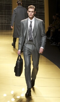 ERMENEGILDO ZEGNA FALL WINTER 2013 MEN'S COLLECTION – MILANO FASHION WEEK