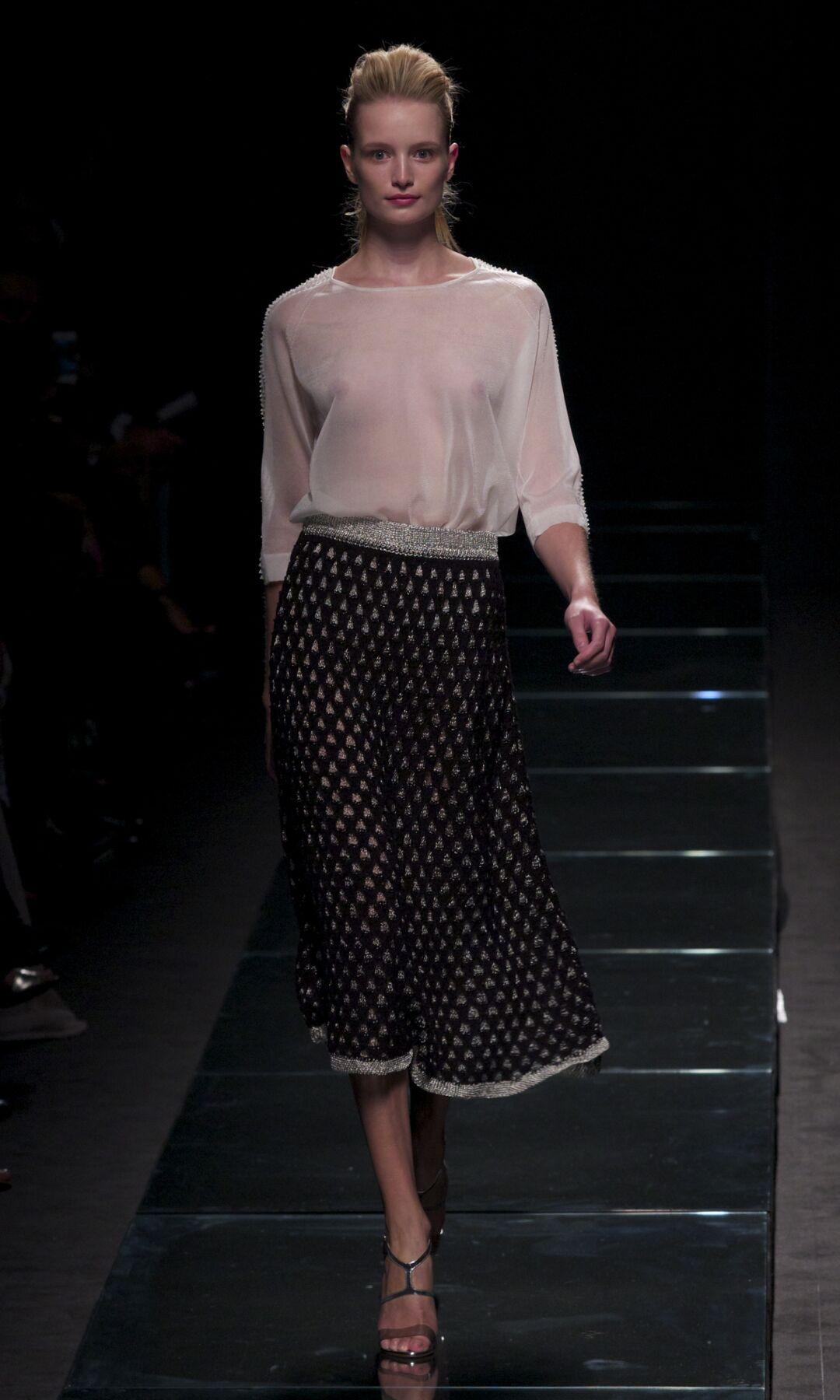 Fashion Model Anteprima Catwalk