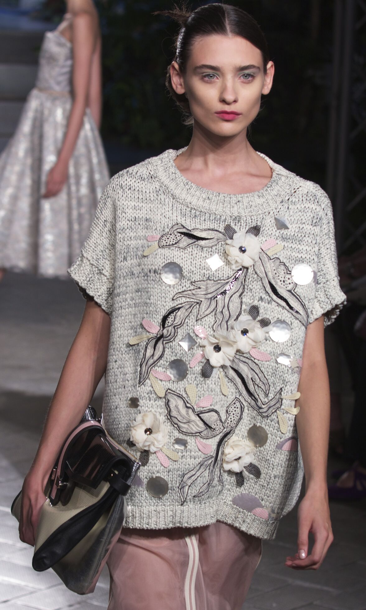 Fashion Model Antonio Marras Catwalk