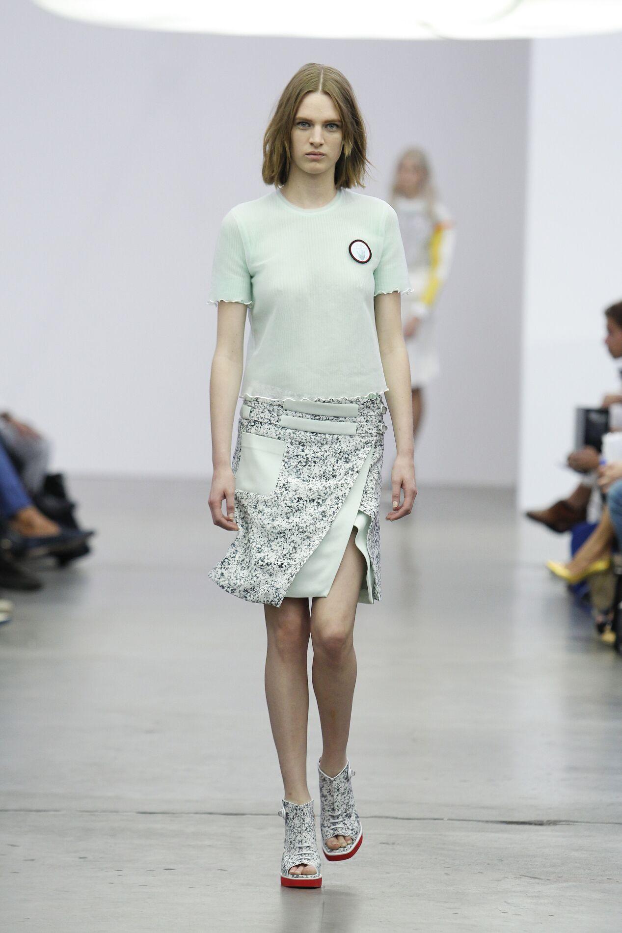 Fashion Model Iceberg Catwalk